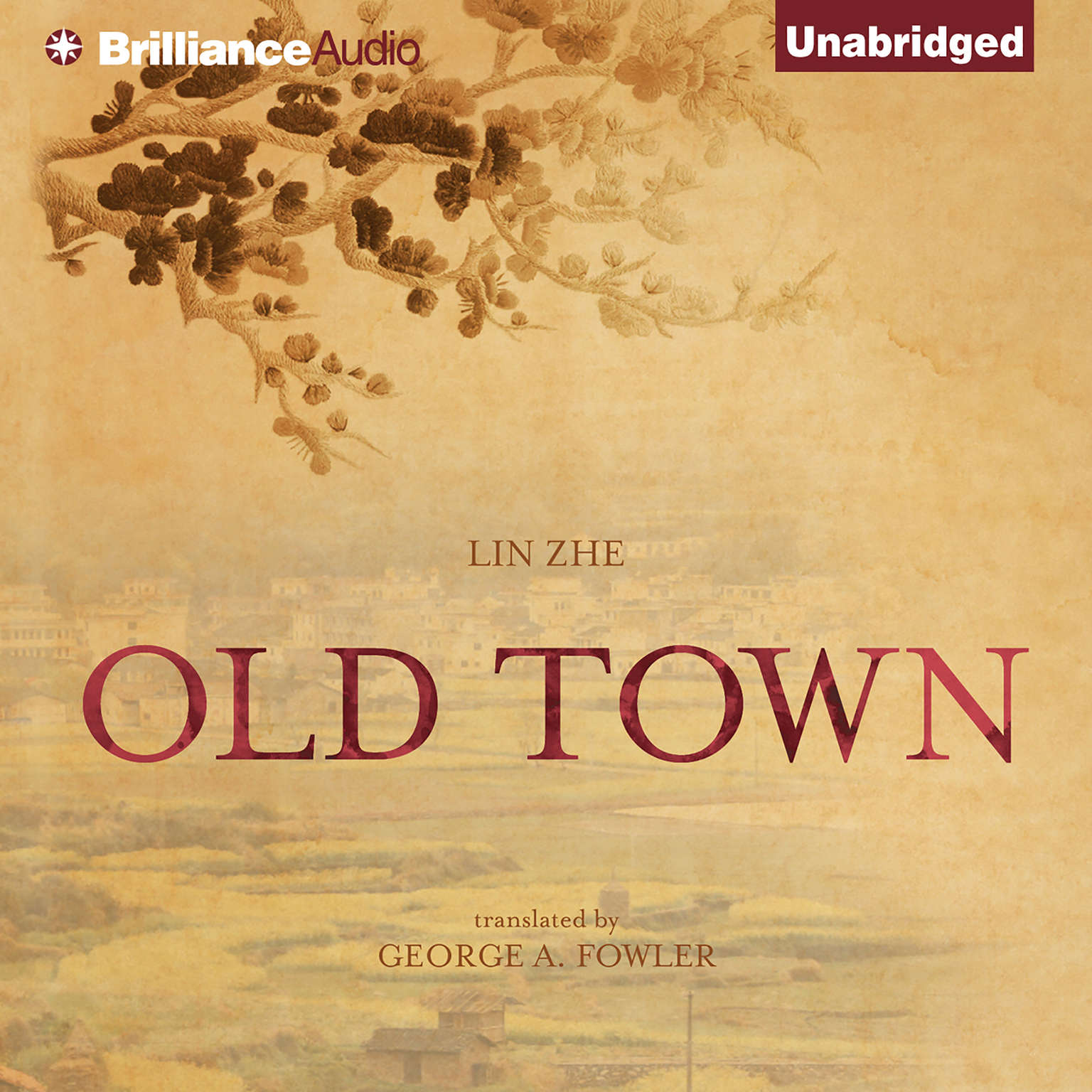 Printable Old Town Audiobook Cover Art