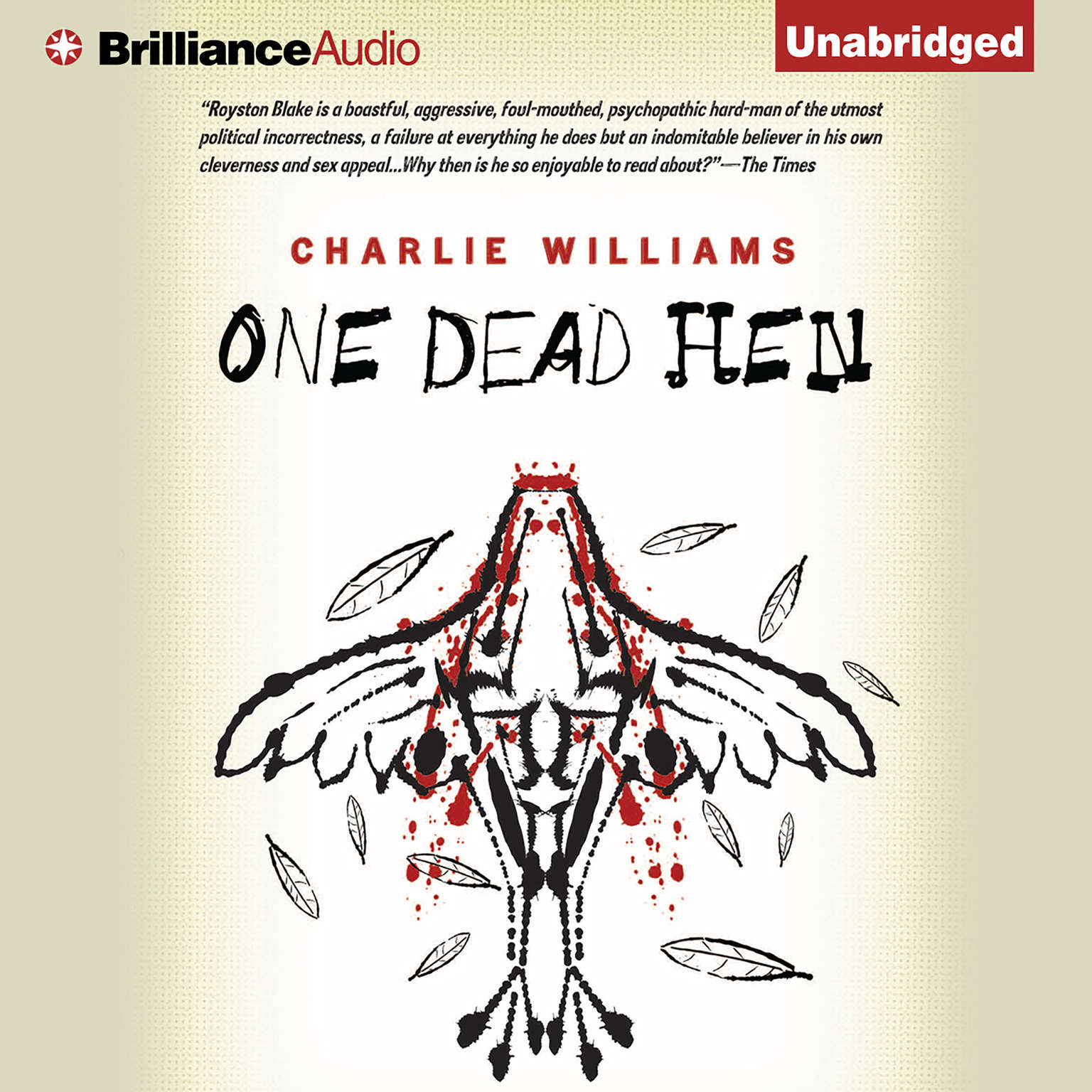 Printable One Dead Hen Audiobook Cover Art