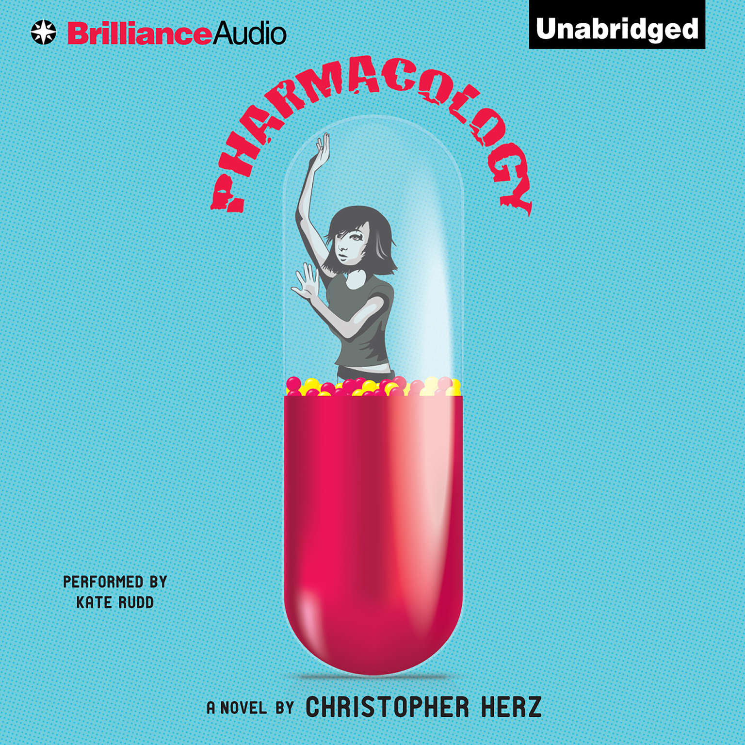 Printable Pharmacology Audiobook Cover Art