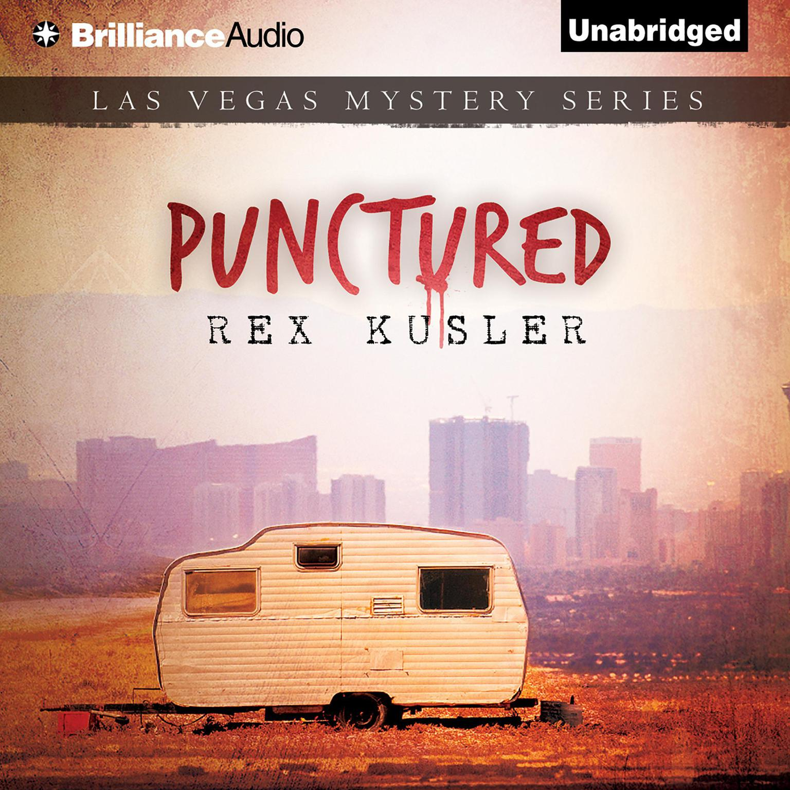 Printable Punctured Audiobook Cover Art