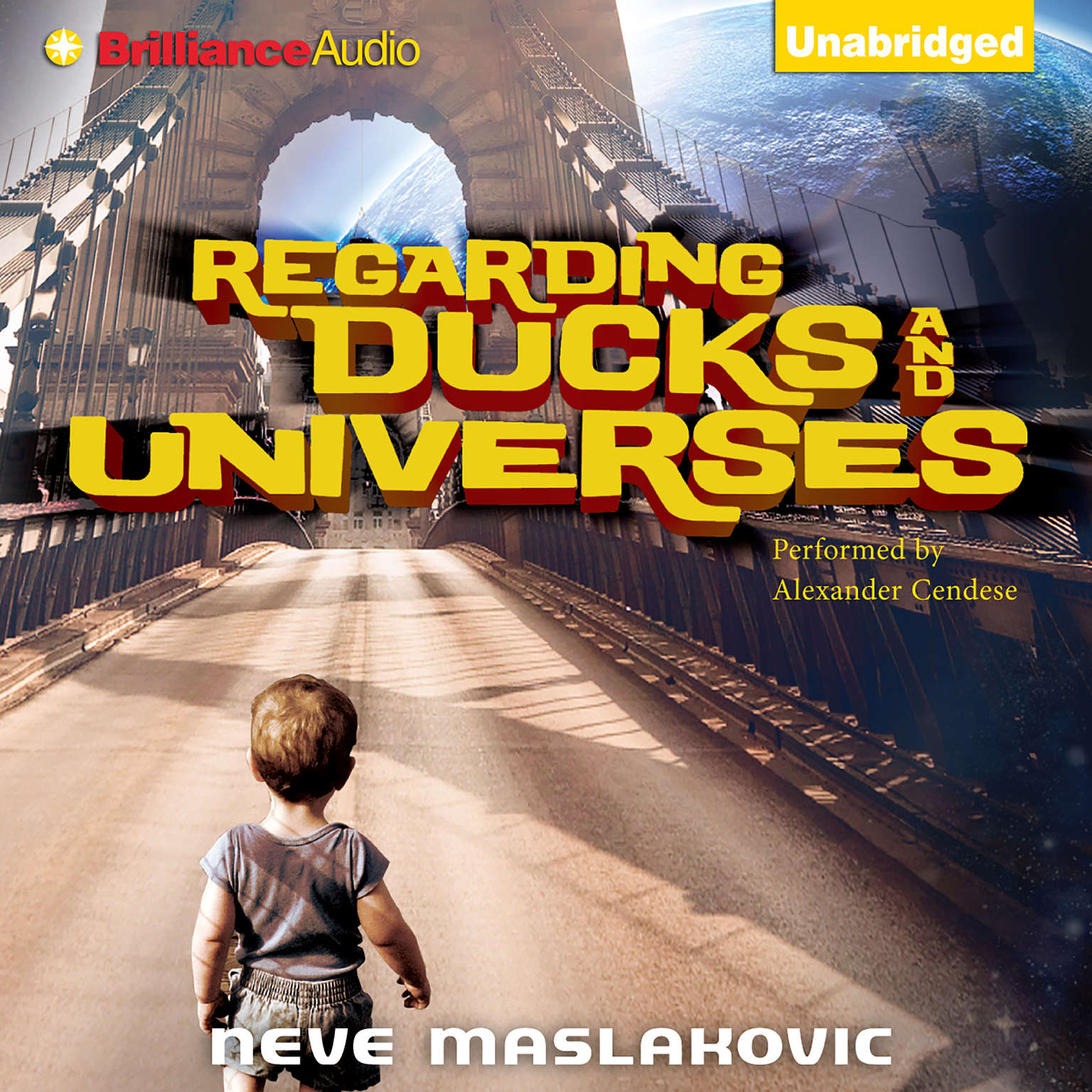 Printable Regarding Ducks and Universes Audiobook Cover Art