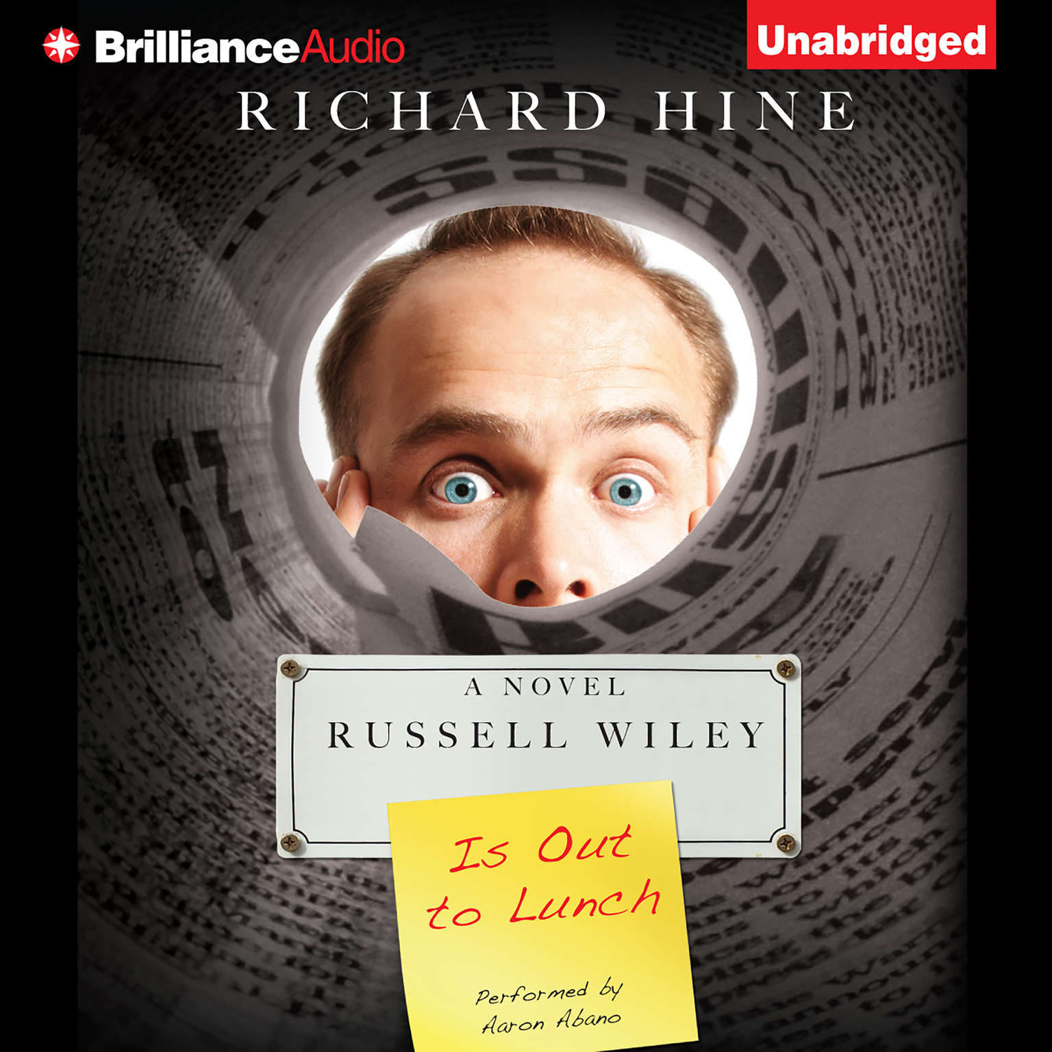 Printable Russell Wiley Is Out to Lunch Audiobook Cover Art