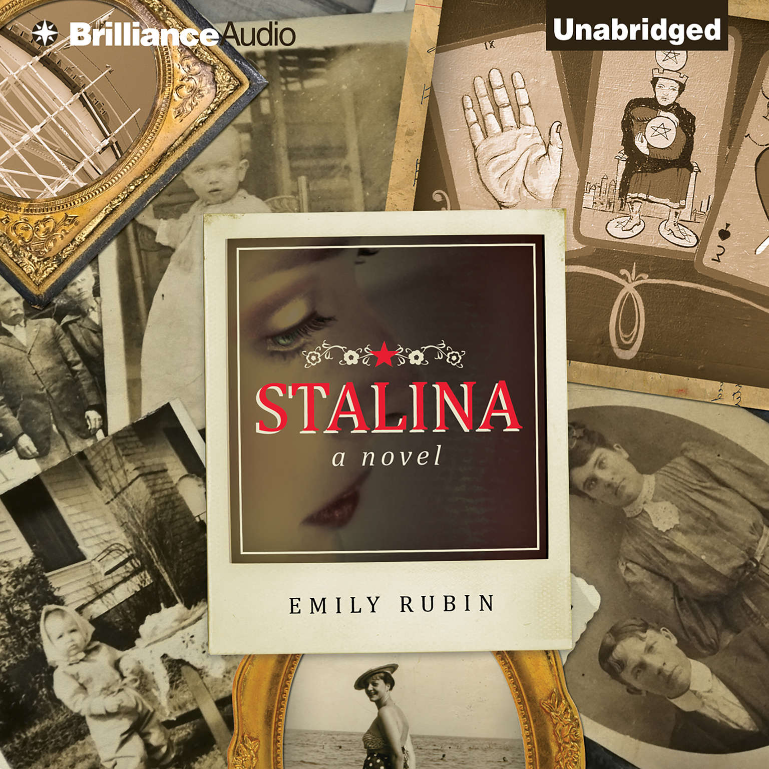 Printable Stalina Audiobook Cover Art