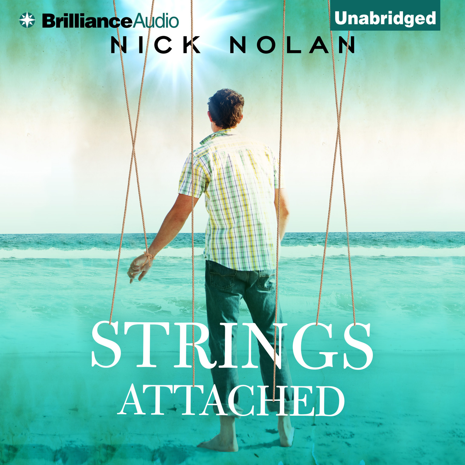 Printable Strings Attached Audiobook Cover Art