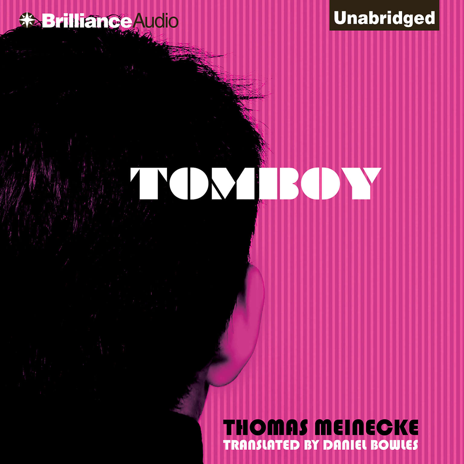 Printable Tomboy Audiobook Cover Art