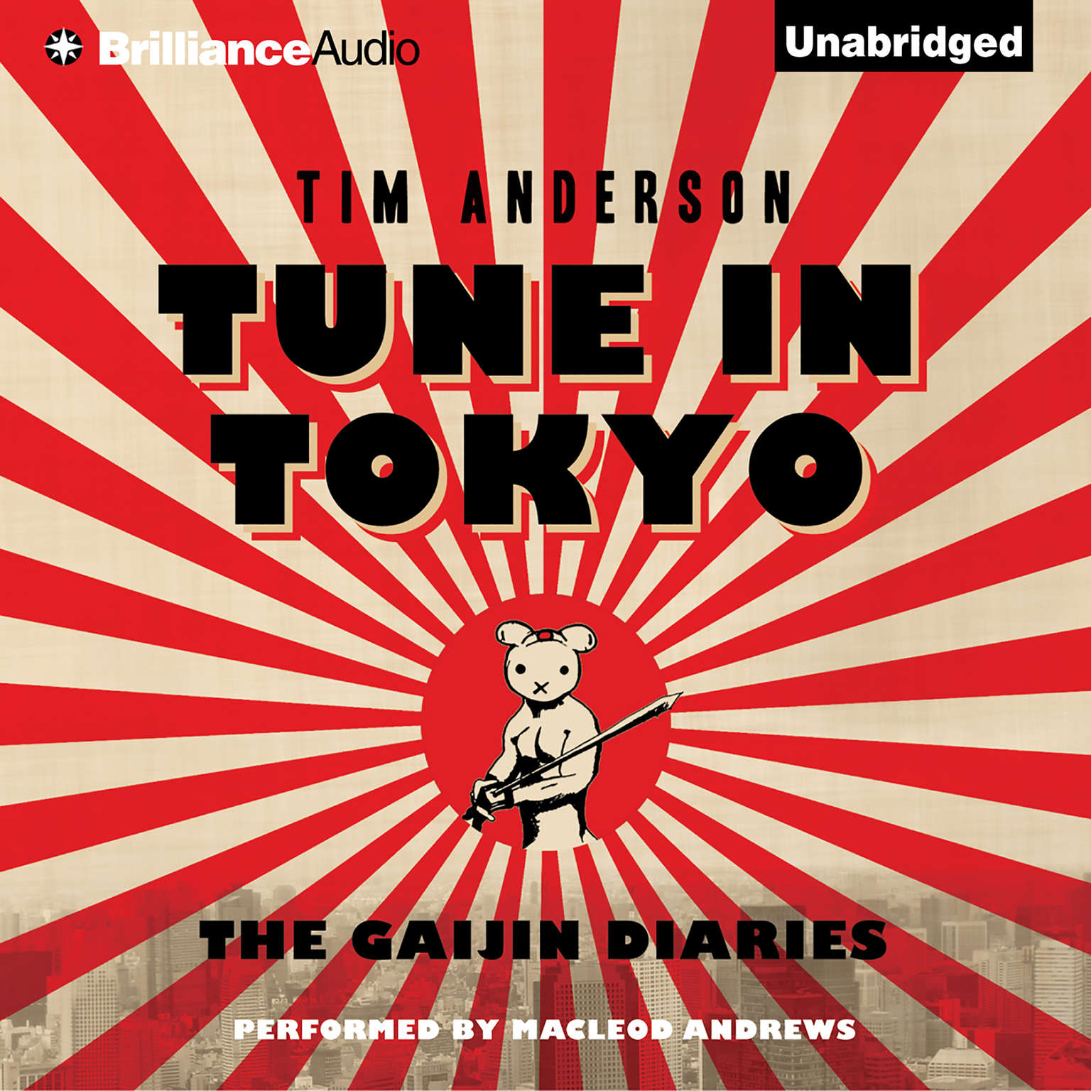 Printable Tune In Tokyo: The Gaijin Diaries Audiobook Cover Art
