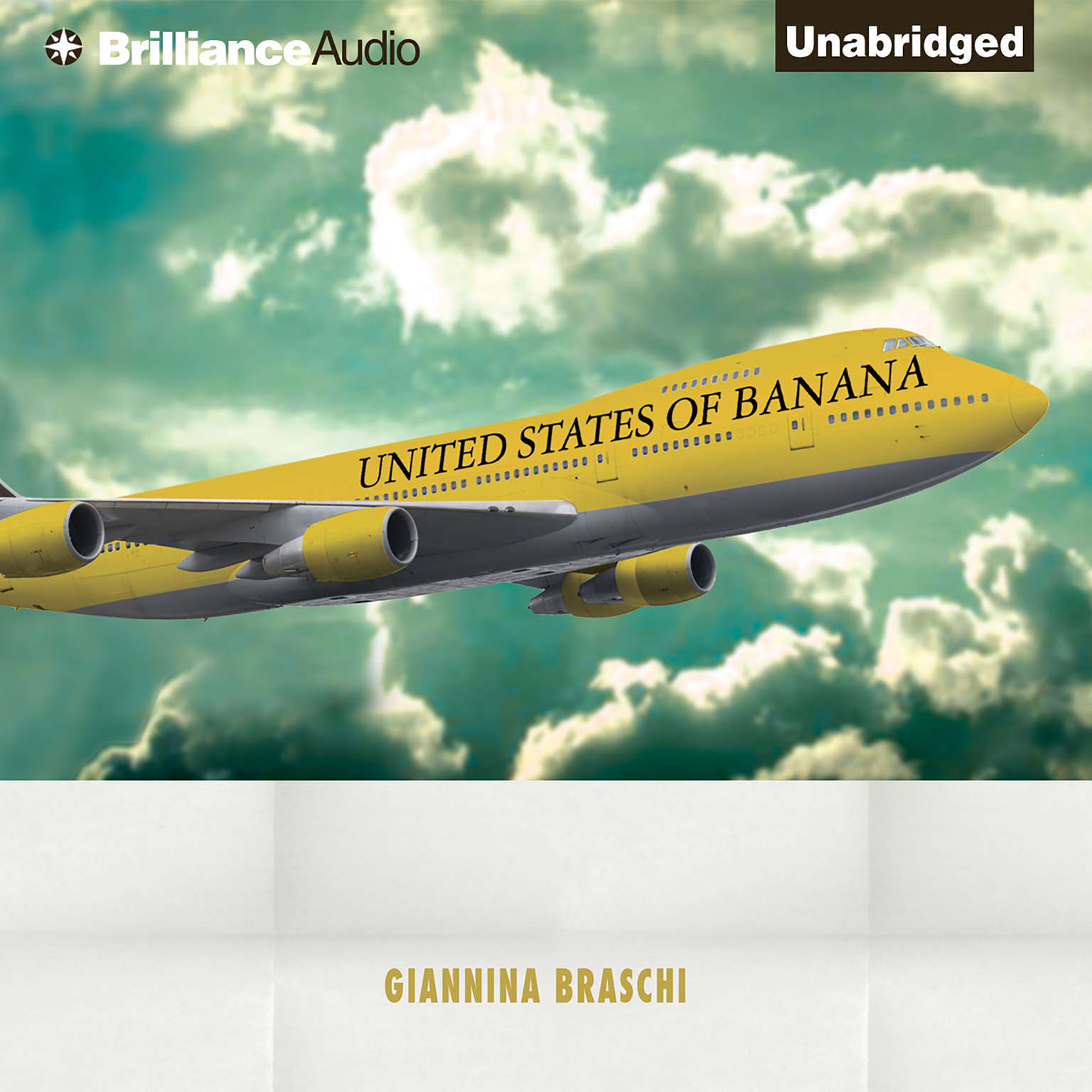 Printable United States of Banana Audiobook Cover Art
