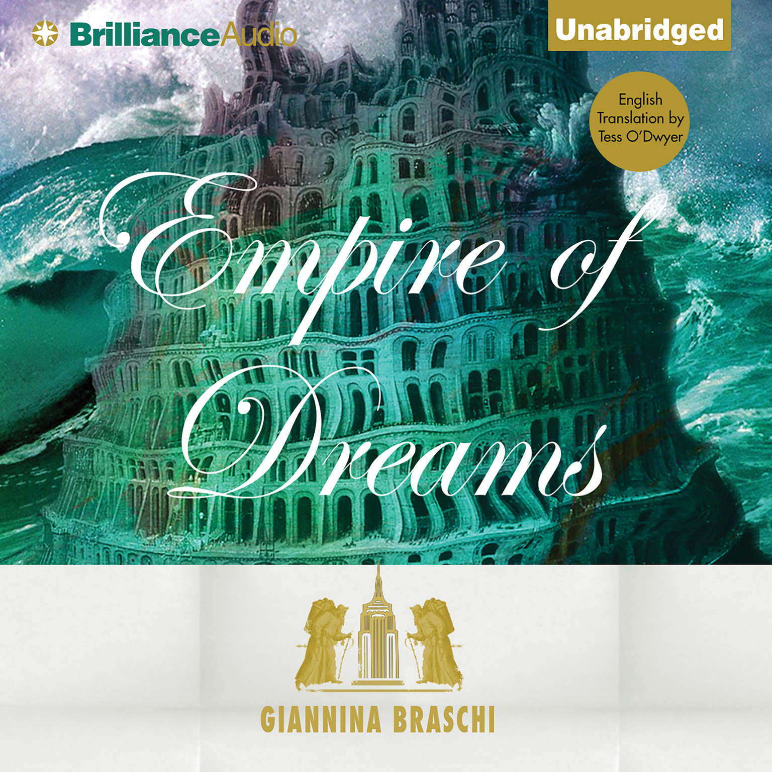 Printable Empire of Dreams Audiobook Cover Art