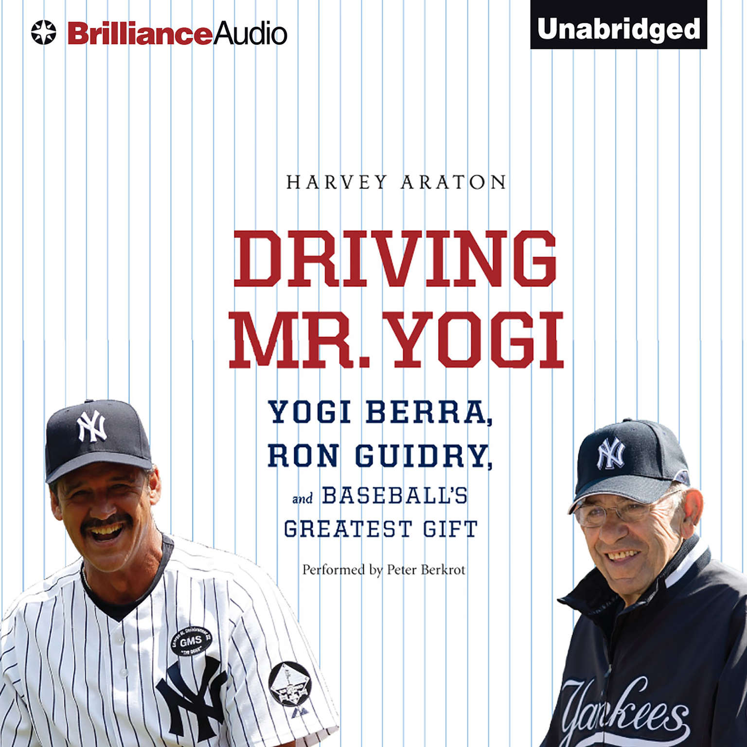 Printable Driving Mr. Yogi: Yogi Berra, Ron Guidry, and Baseball's Greatest Gift Audiobook Cover Art