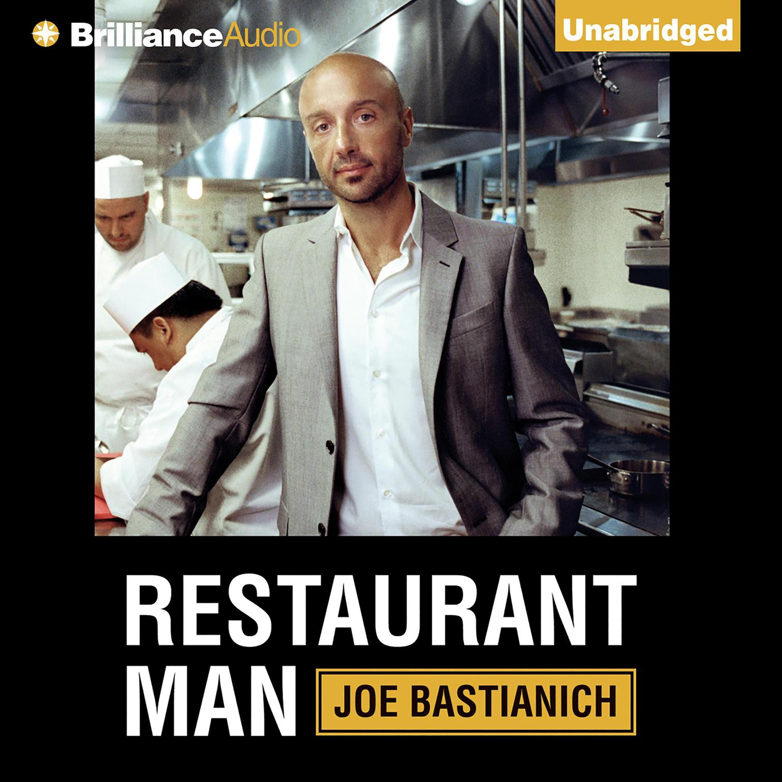Printable Restaurant Man Audiobook Cover Art