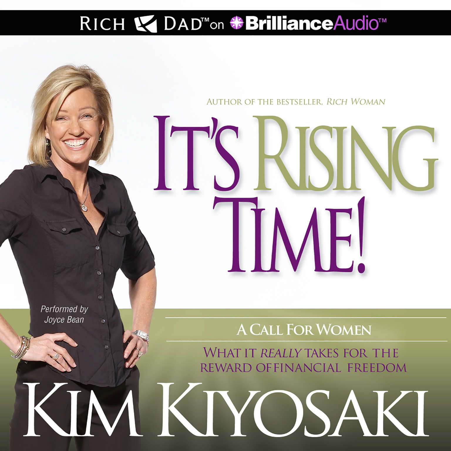 Printable It's Rising Time!: What It Really Takes for the Reward of Financial Freedom Audiobook Cover Art