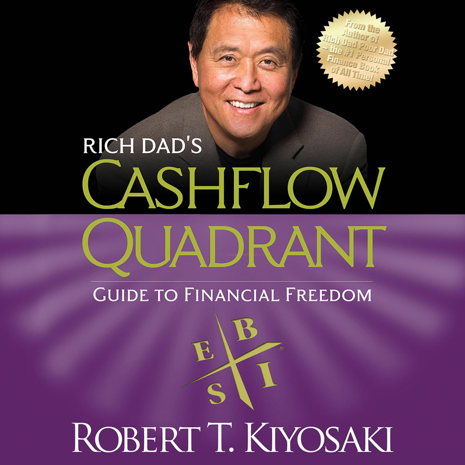 Printable Rich Dad's Cashflow Quadrant: Guide to Financial Freedom Audiobook Cover Art