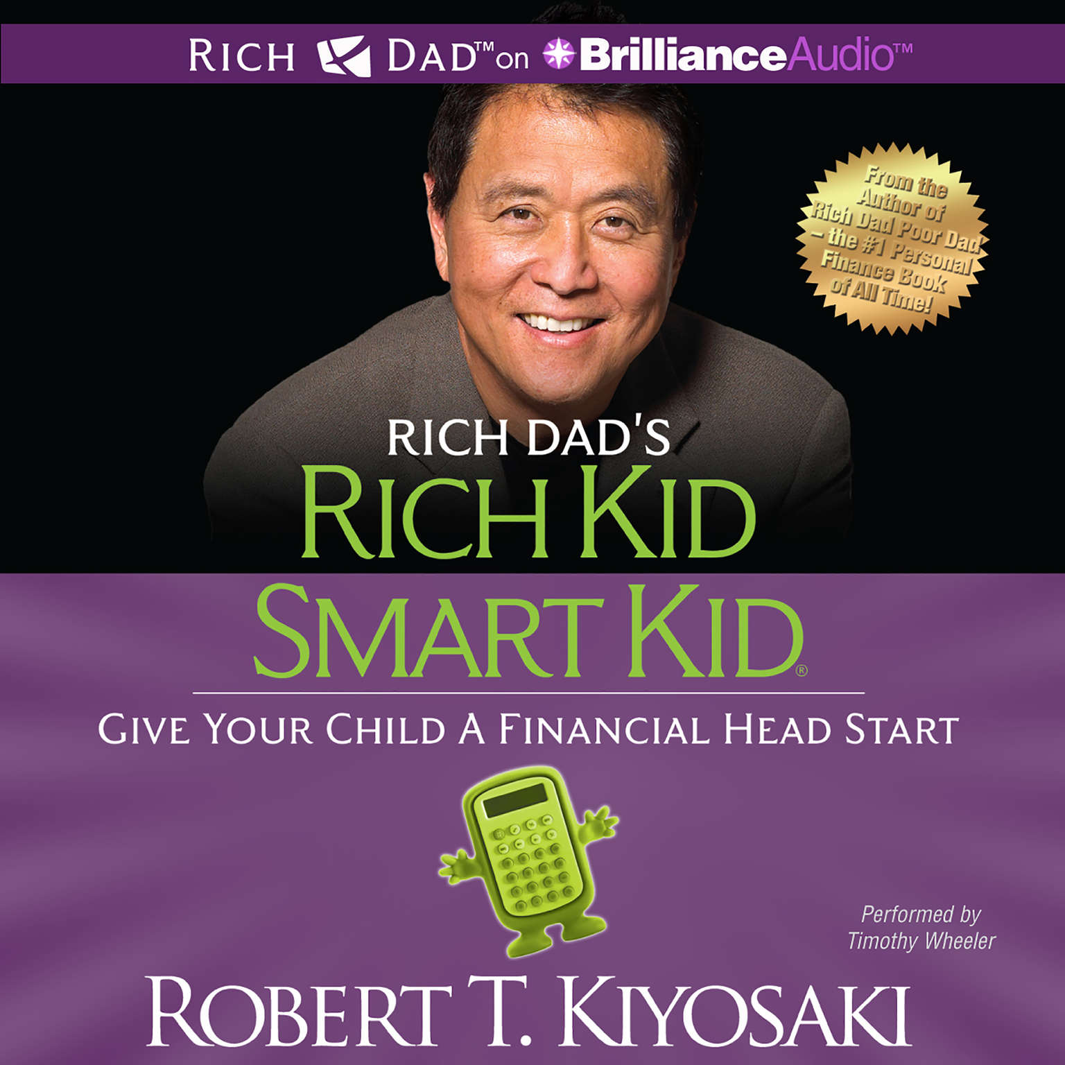 Printable Rich Kid, Smart Kid: Give Your Child a Financial Head Start Audiobook Cover Art