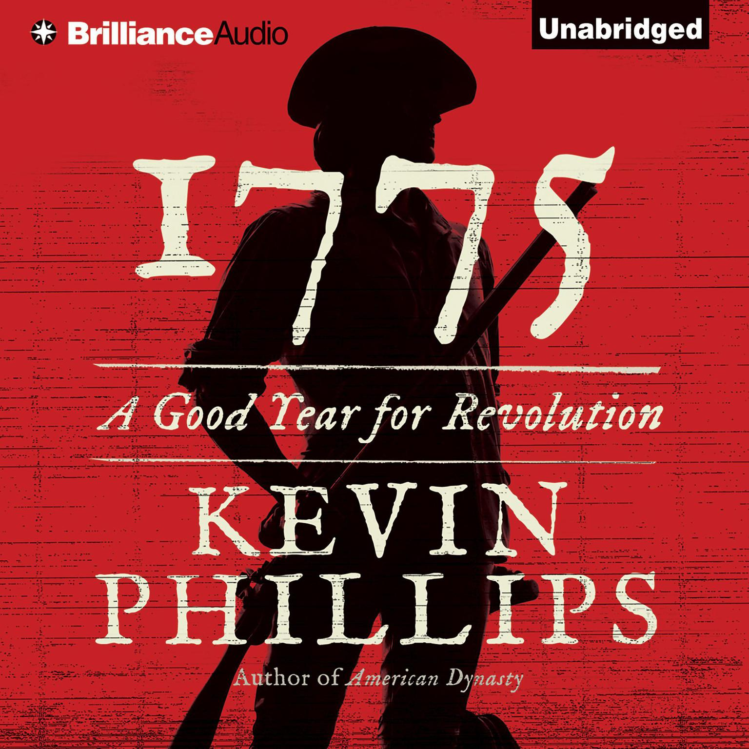 Printable 1775: A Good Year for Revolution Audiobook Cover Art