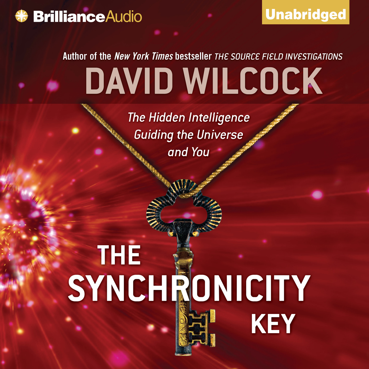 Printable The Synchronicity Key: The Hidden Intelligence Guiding the Universe and You Audiobook Cover Art
