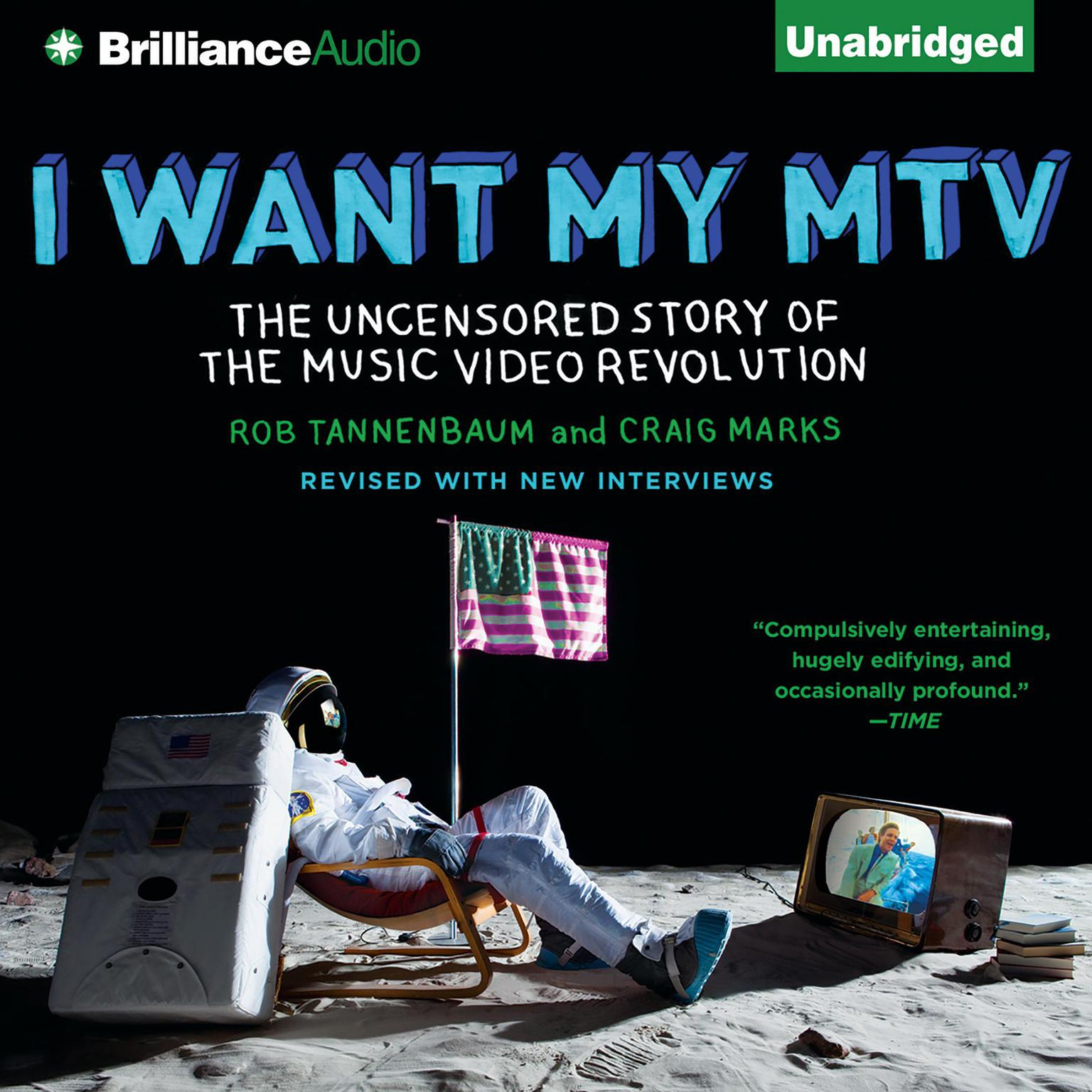 Printable I Want My MTV: The Uncensored Story of the Music Video Revolution Audiobook Cover Art