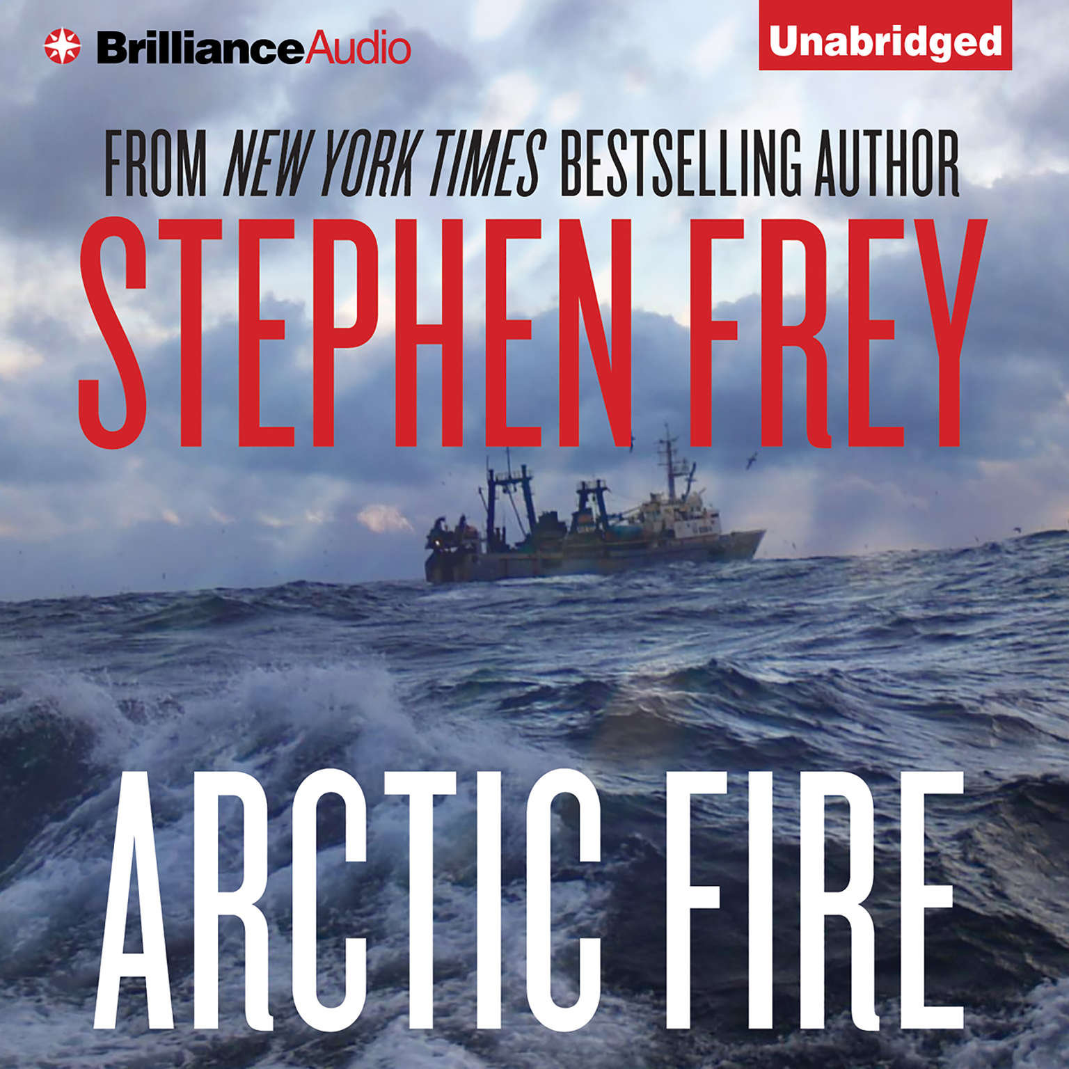 Printable Arctic Fire Audiobook Cover Art