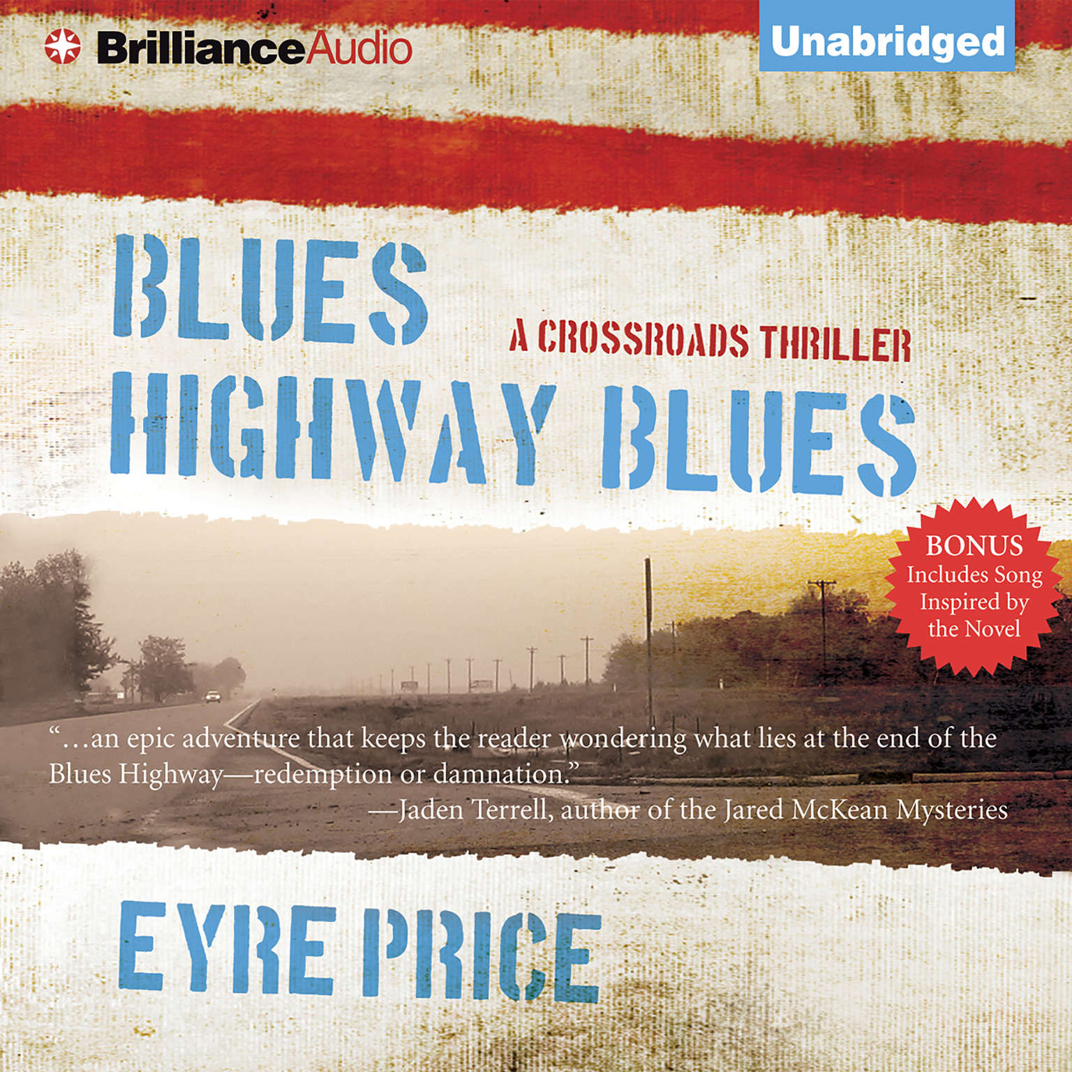 Printable Blues Highway Blues Audiobook Cover Art