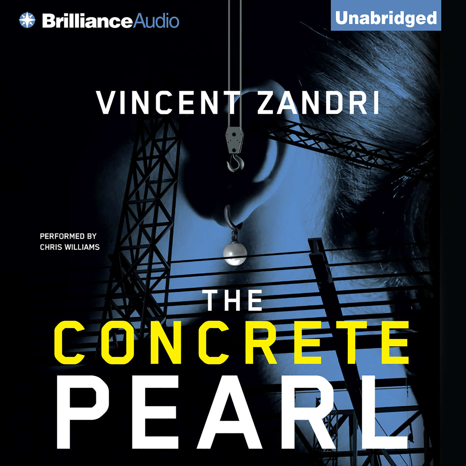 Printable The Concrete Pearl Audiobook Cover Art