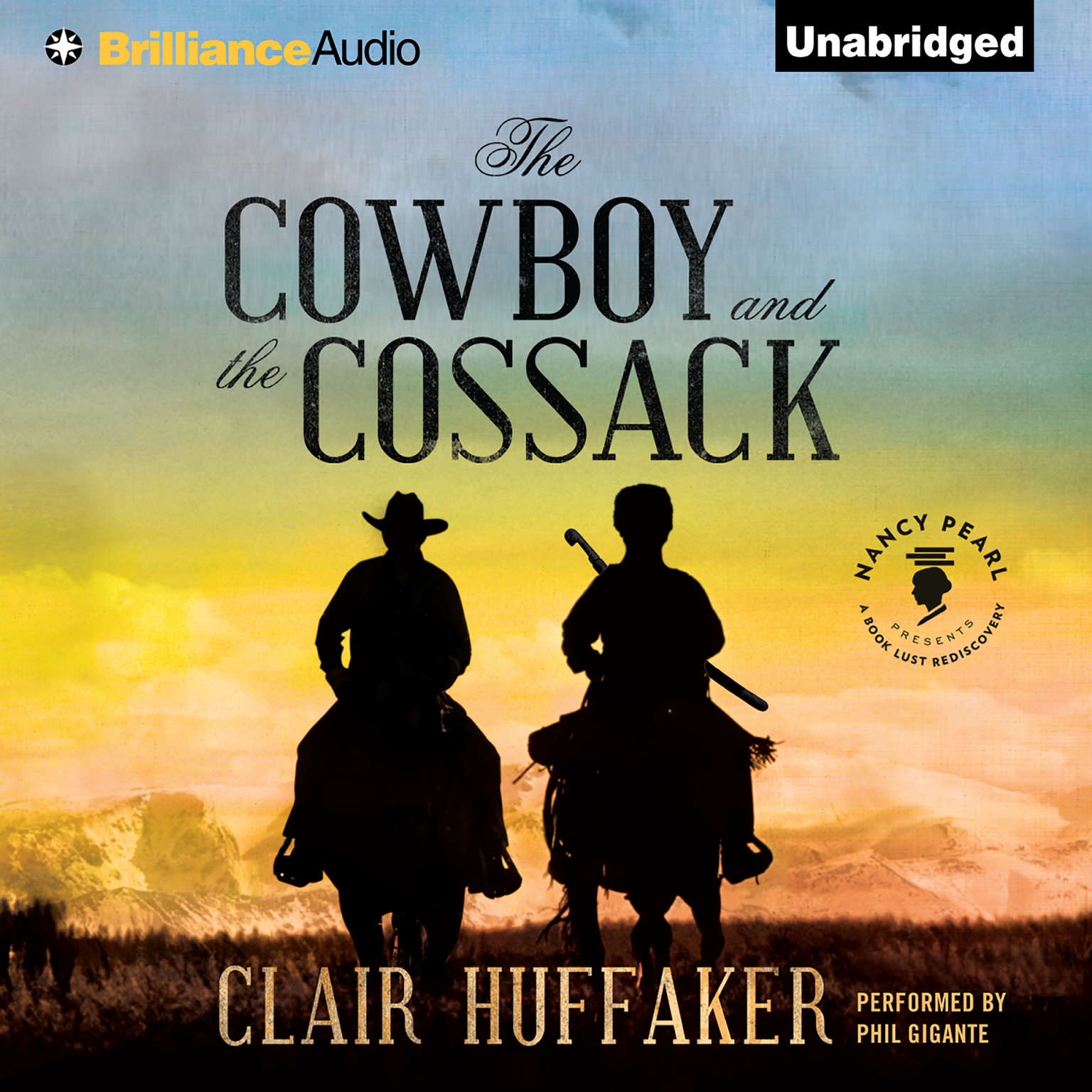 Printable The Cowboy and the Cossack Audiobook Cover Art