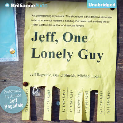 Jeff, One Lonely Guy Audiobook, by Jeff Ragsdale