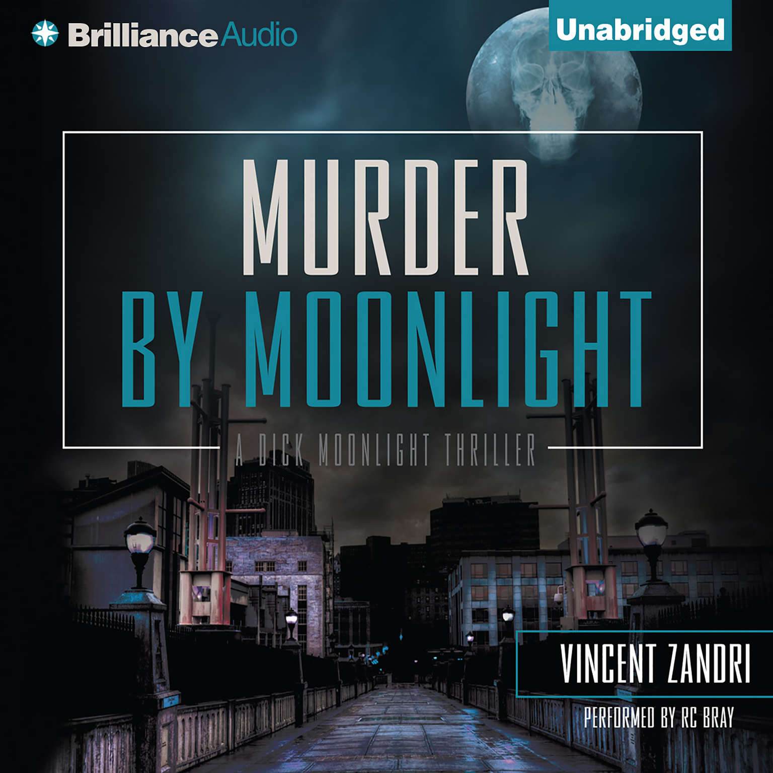 Printable Murder by Moonlight Audiobook Cover Art