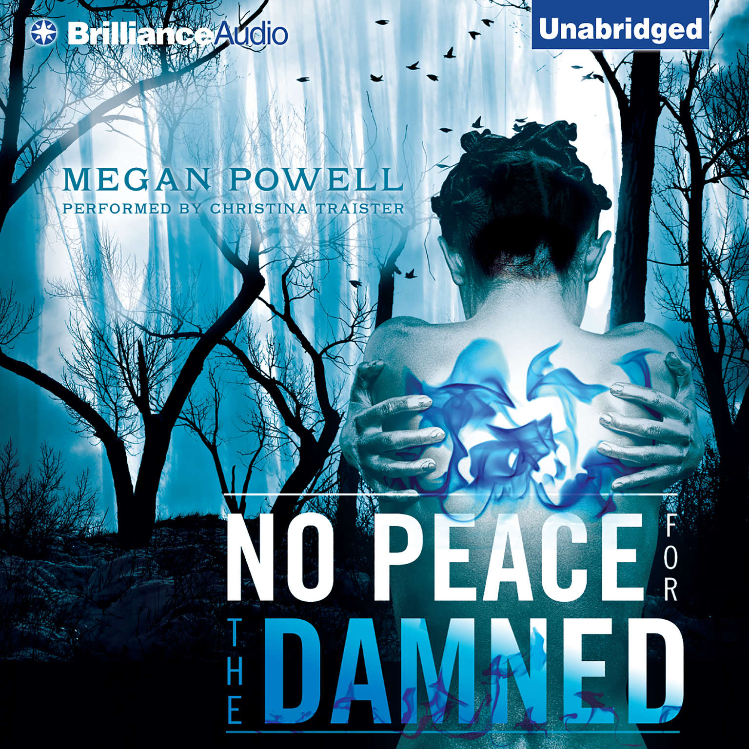 Printable No Peace for the Damned Audiobook Cover Art