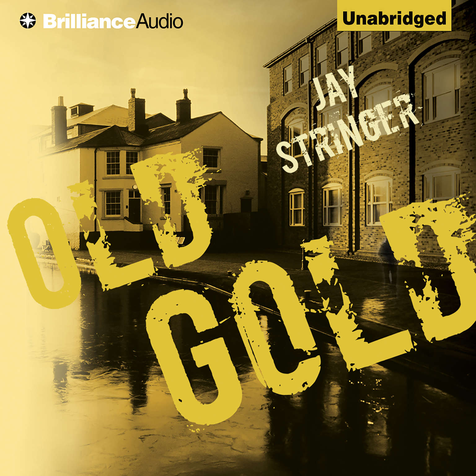 Printable Old Gold Audiobook Cover Art