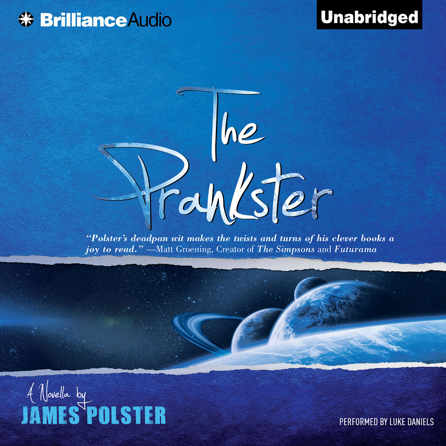 Printable The Prankster: A Novella Audiobook Cover Art