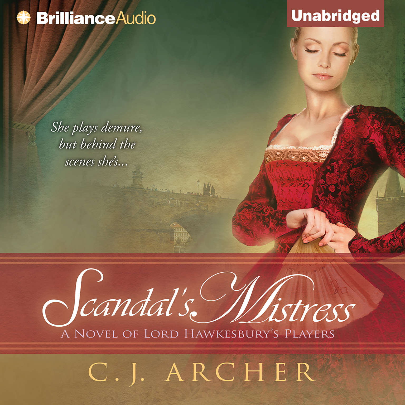 Printable Scandal's Mistress Audiobook Cover Art