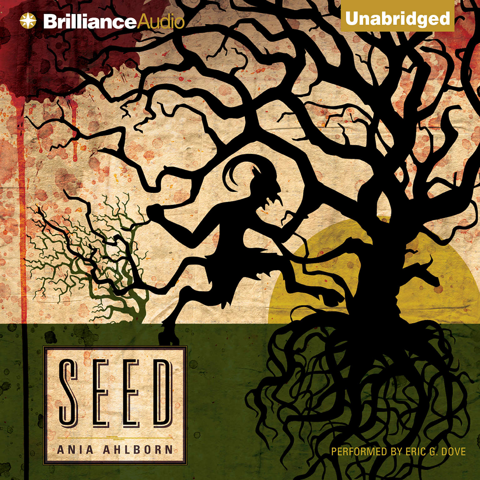 Printable Seed Audiobook Cover Art
