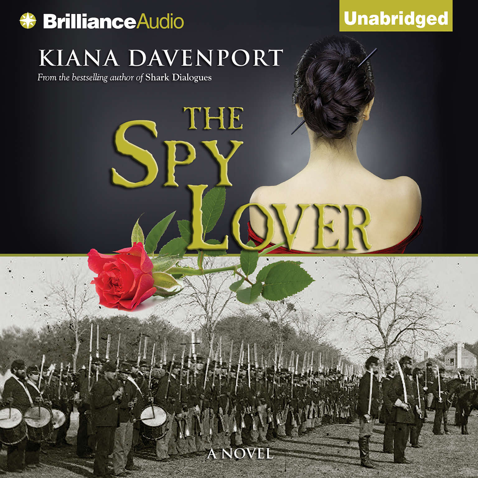 Printable The Spy Lover: A Novel Audiobook Cover Art