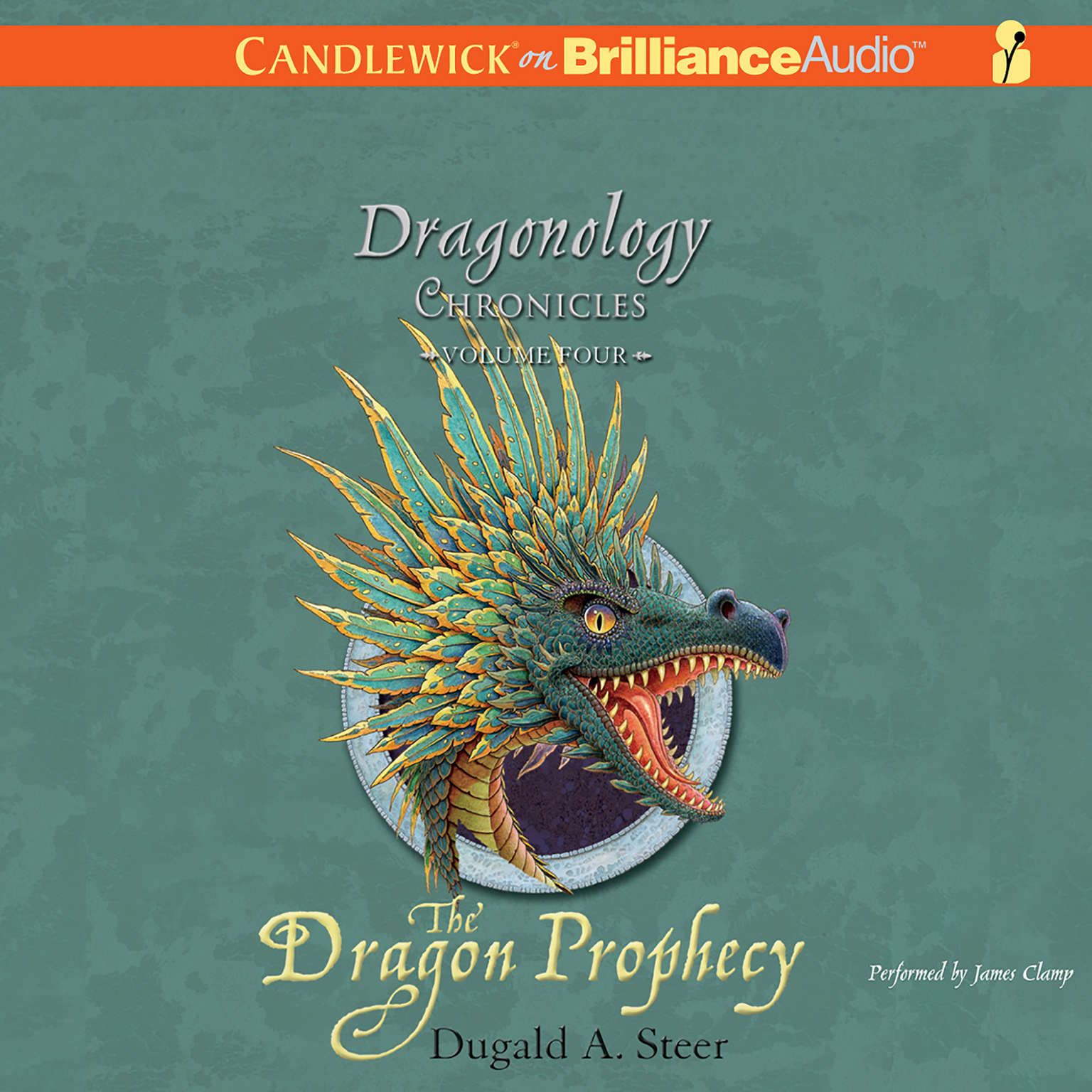 Printable The Dragon Prophecy: The Dragonology Chronicles, Volume 4 Audiobook Cover Art