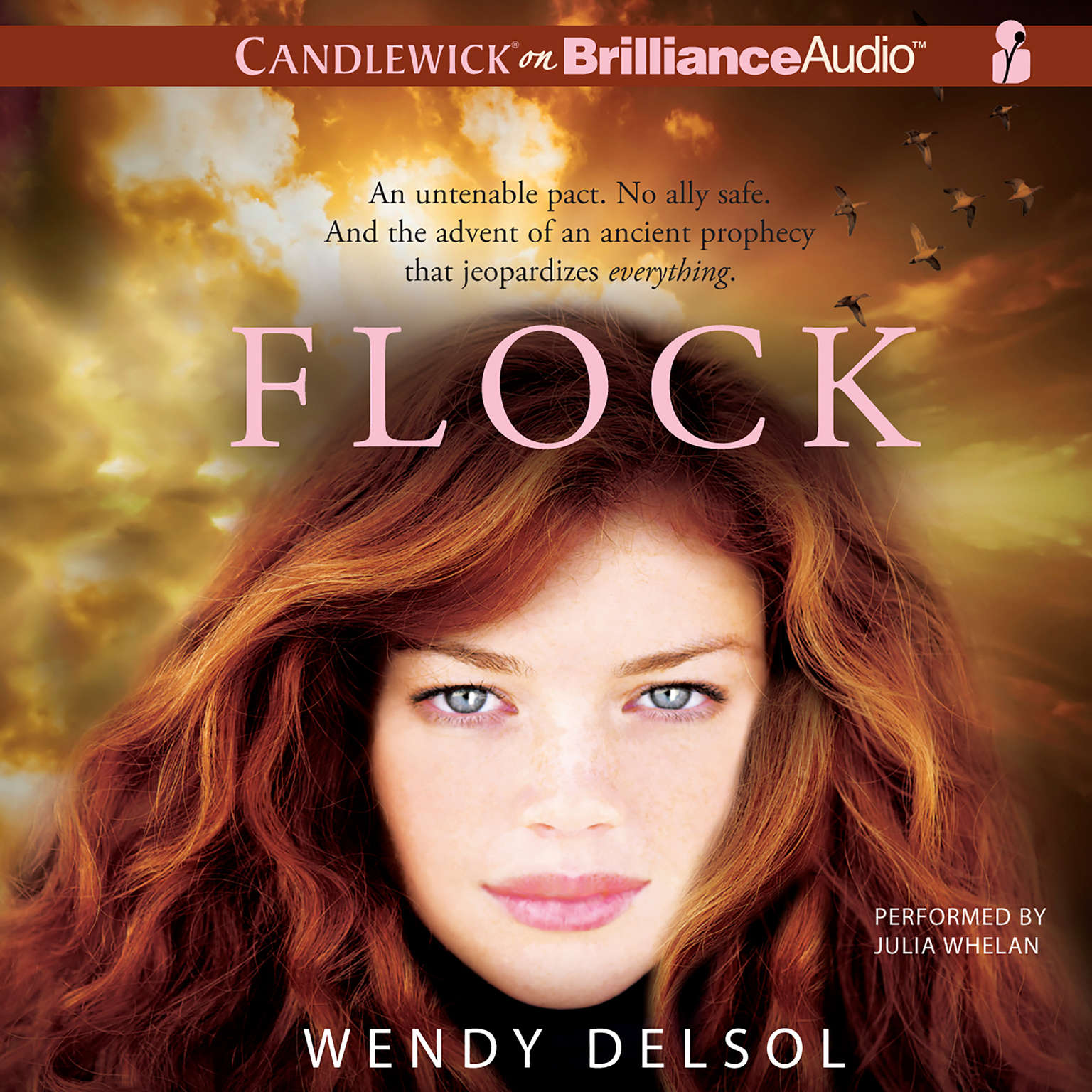 Printable Flock Audiobook Cover Art