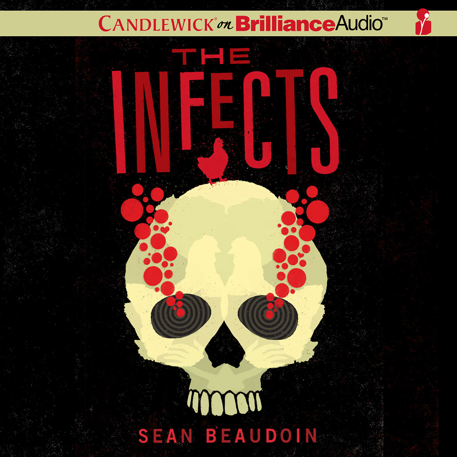Printable The Infects Audiobook Cover Art