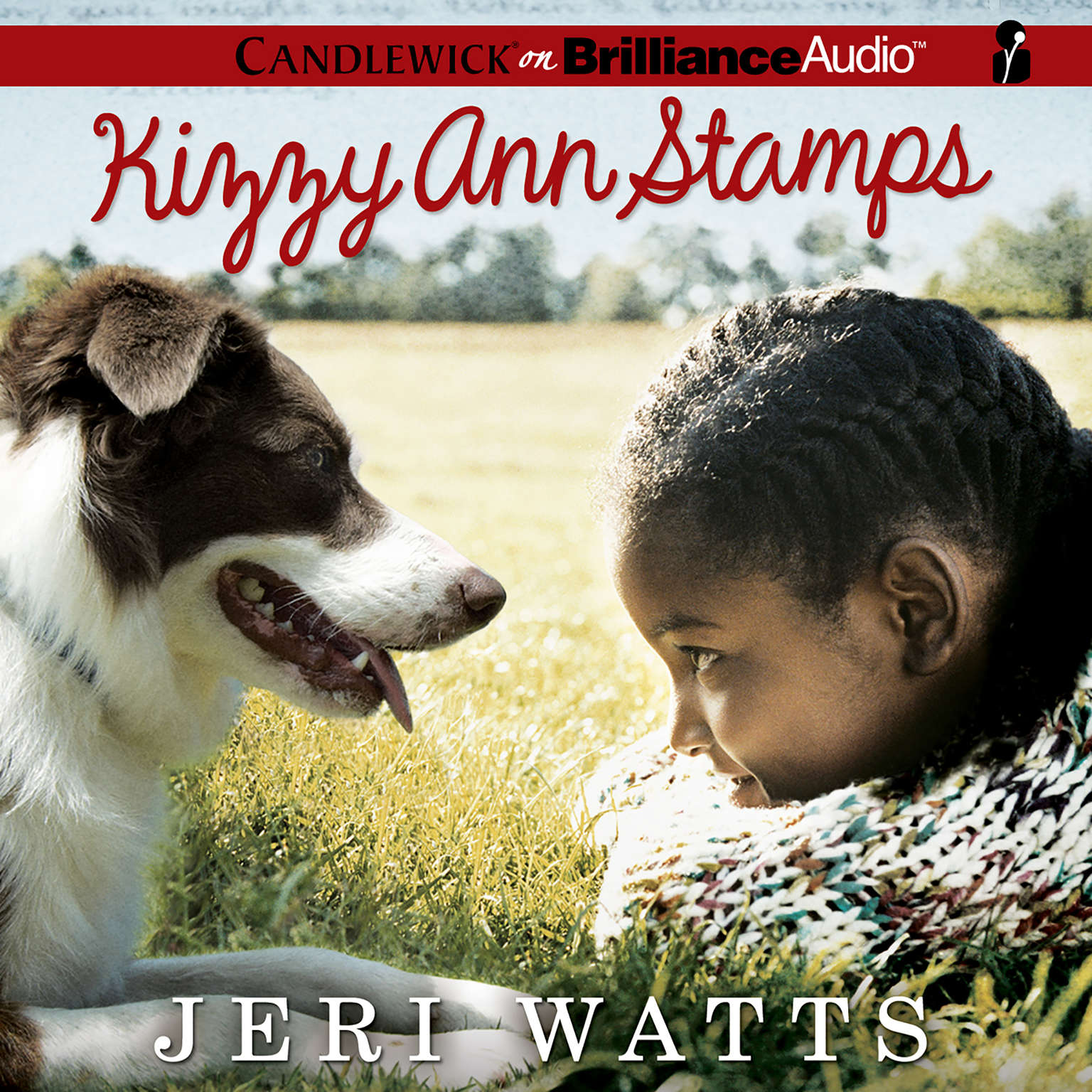 Printable Kizzy Ann Stamps Audiobook Cover Art