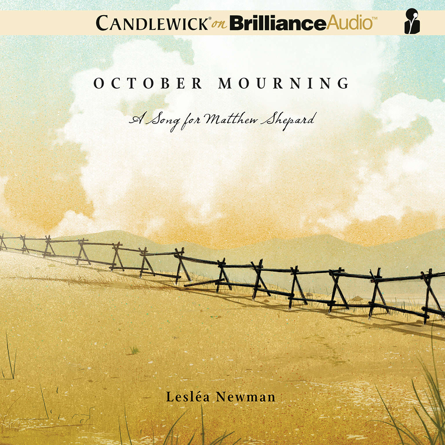 Printable October Mourning: A Song for Matthew Shepard Audiobook Cover Art
