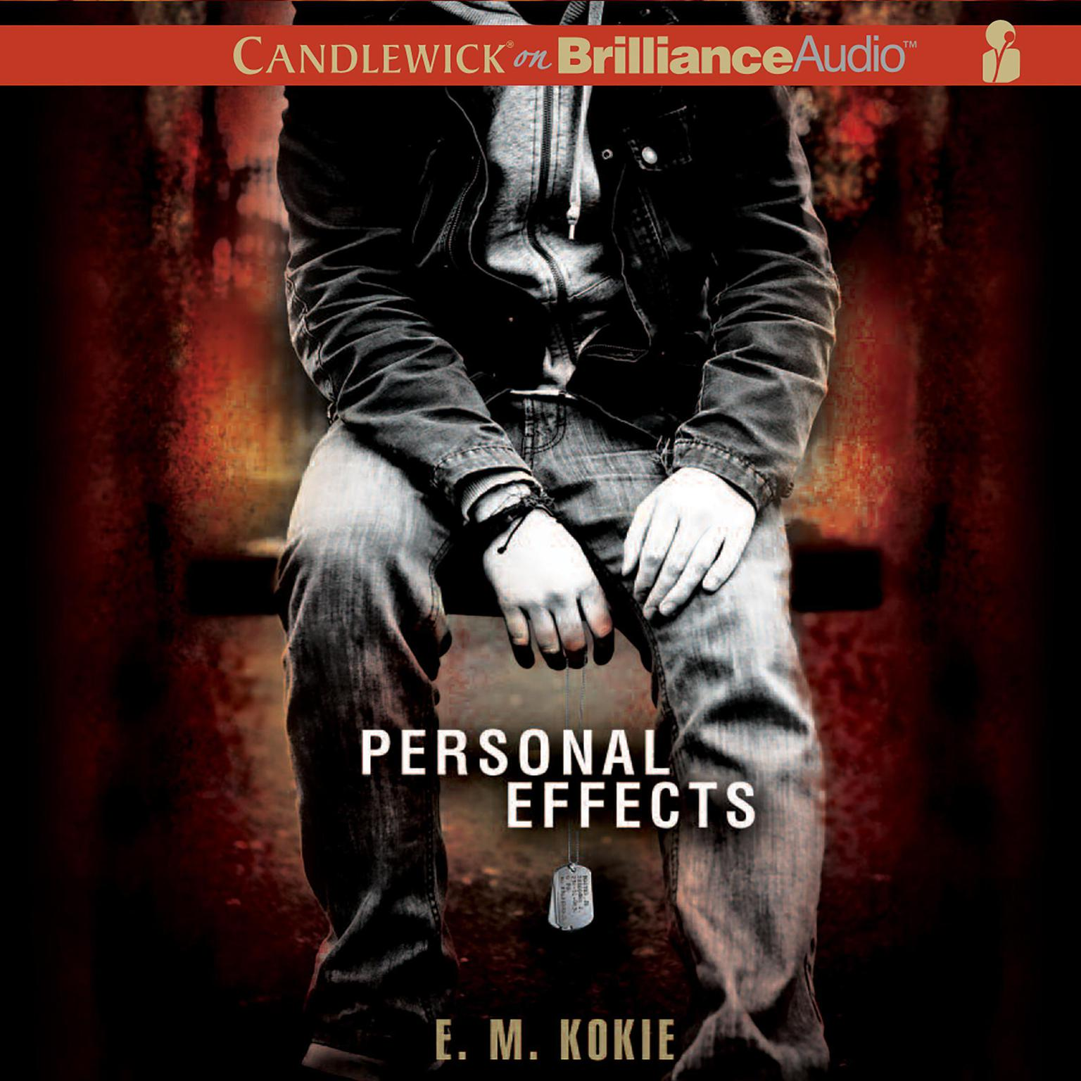 Printable Personal Effects Audiobook Cover Art