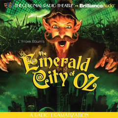 The Emerald City of Oz Audiobook, by L. Frank Baum, Jerry Robbins