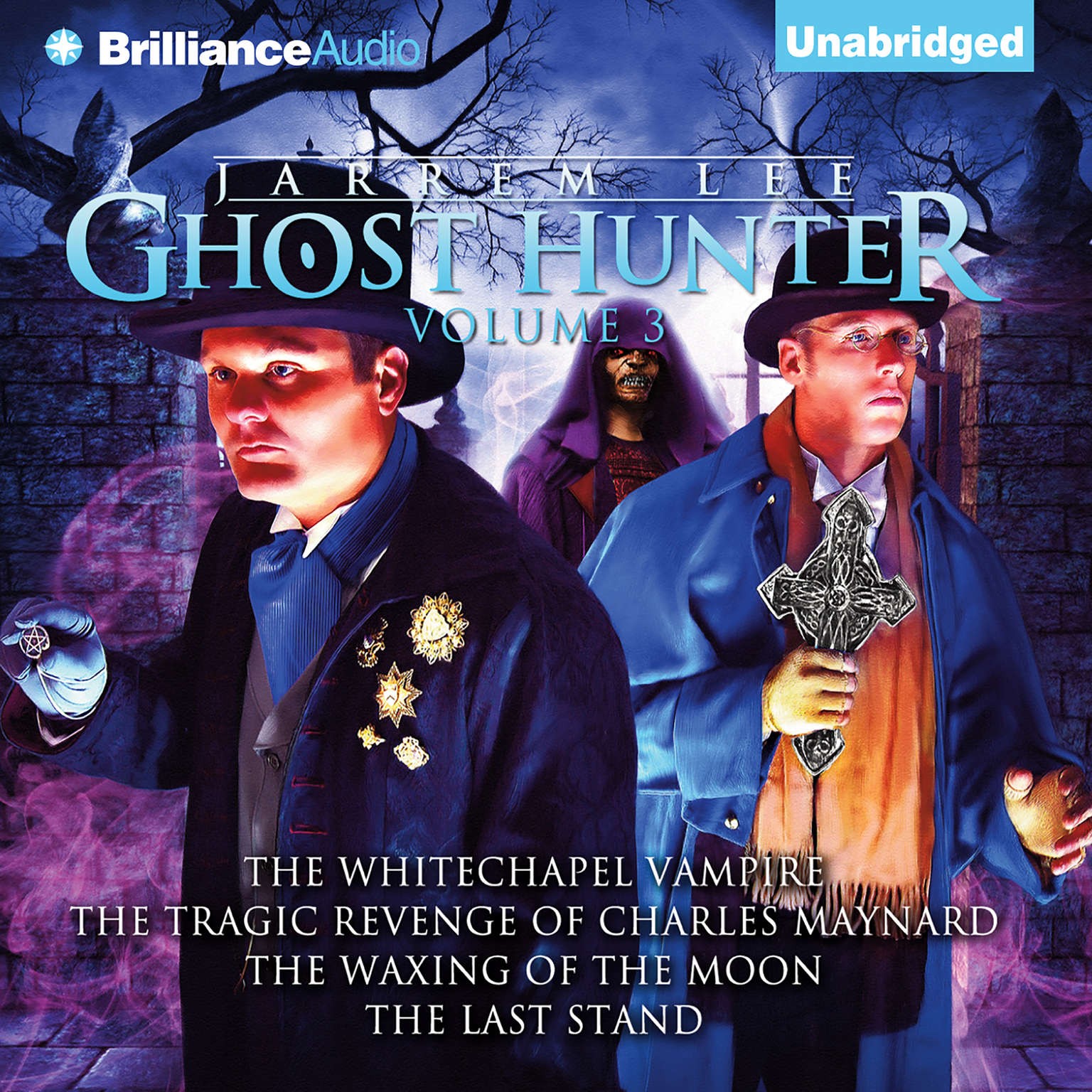 Printable Jarrem Lee, Ghost Hunter, Vol. 3 Audiobook Cover Art
