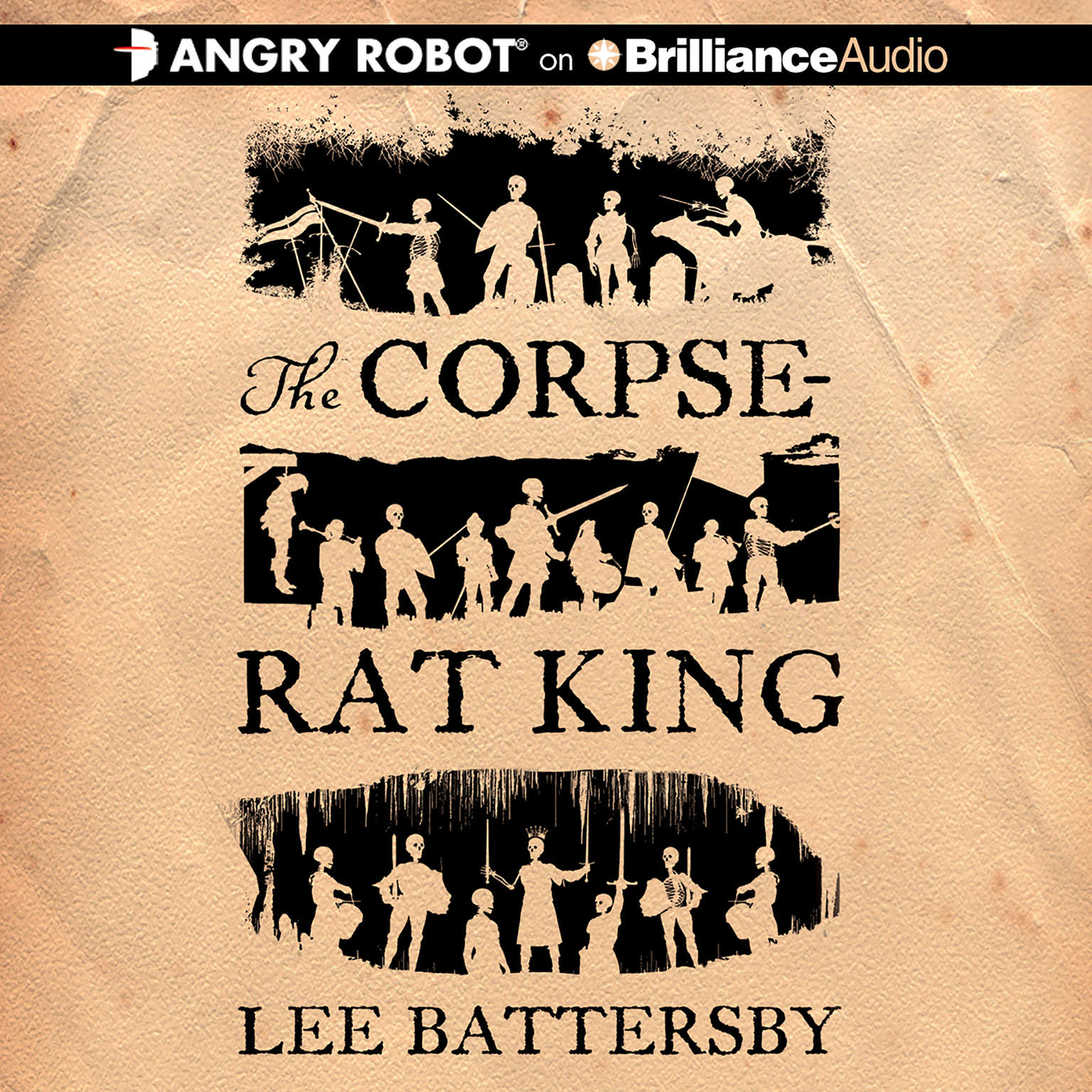 Printable The Corpse-Rat King Audiobook Cover Art