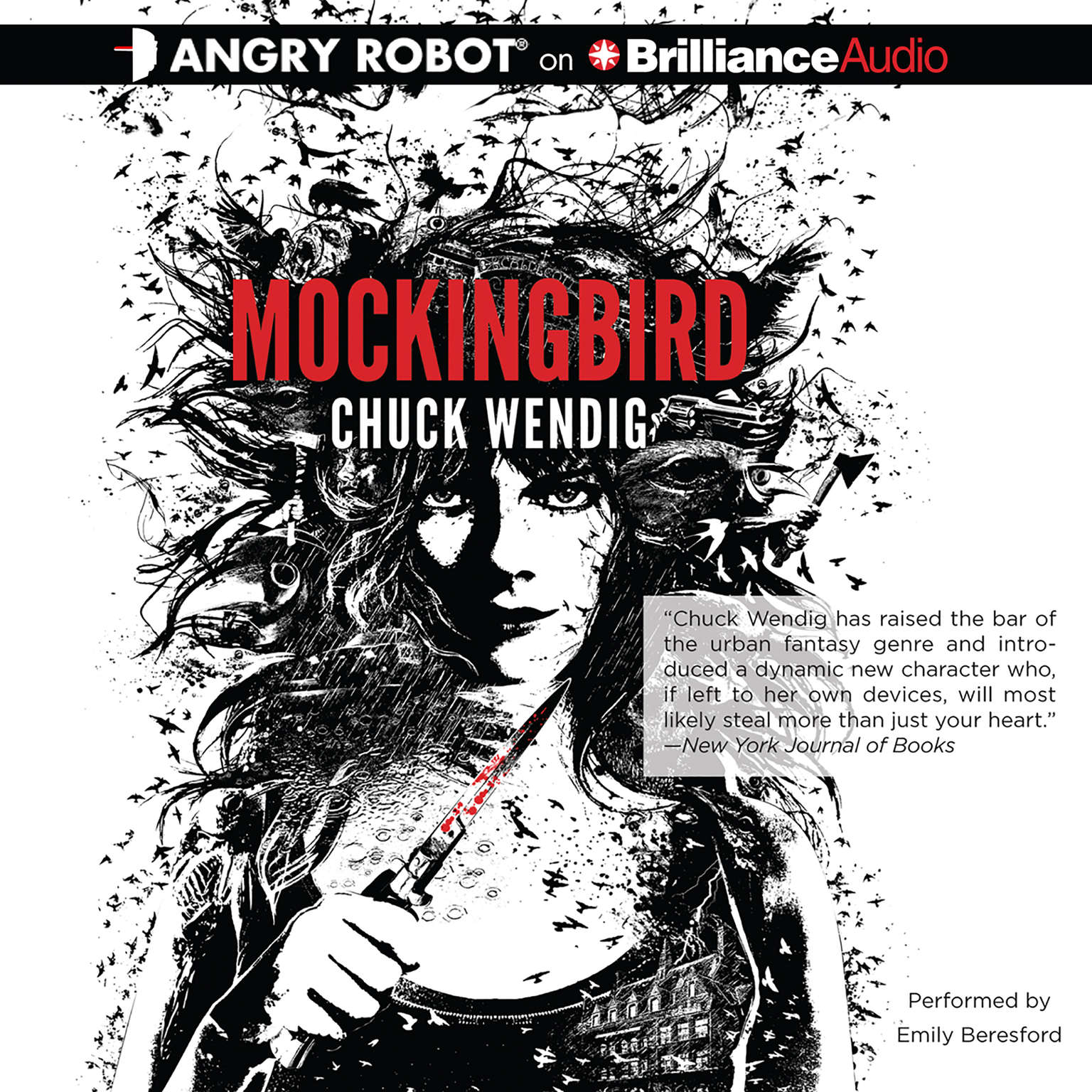 Printable Mockingbird Audiobook Cover Art