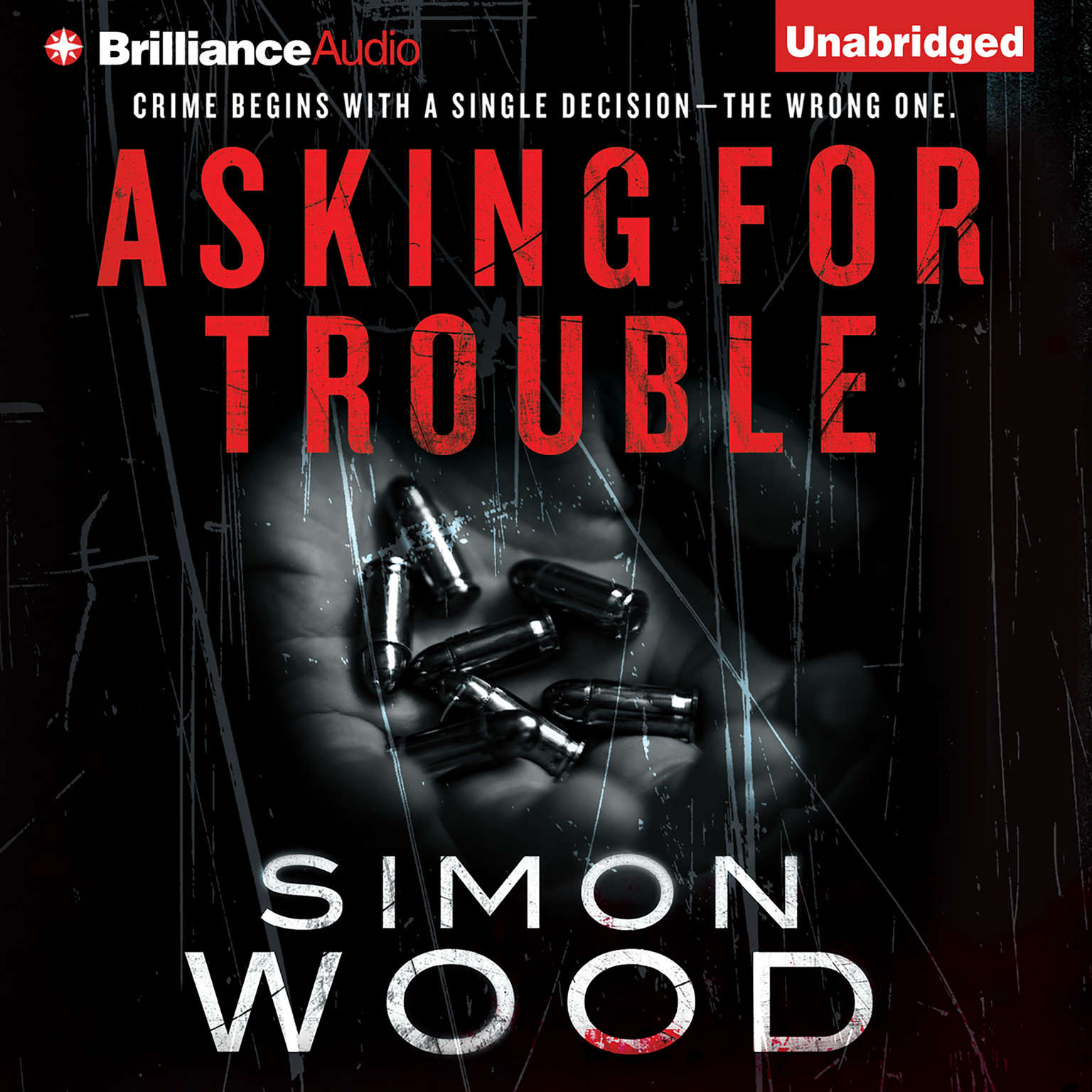 Printable Asking for Trouble Audiobook Cover Art