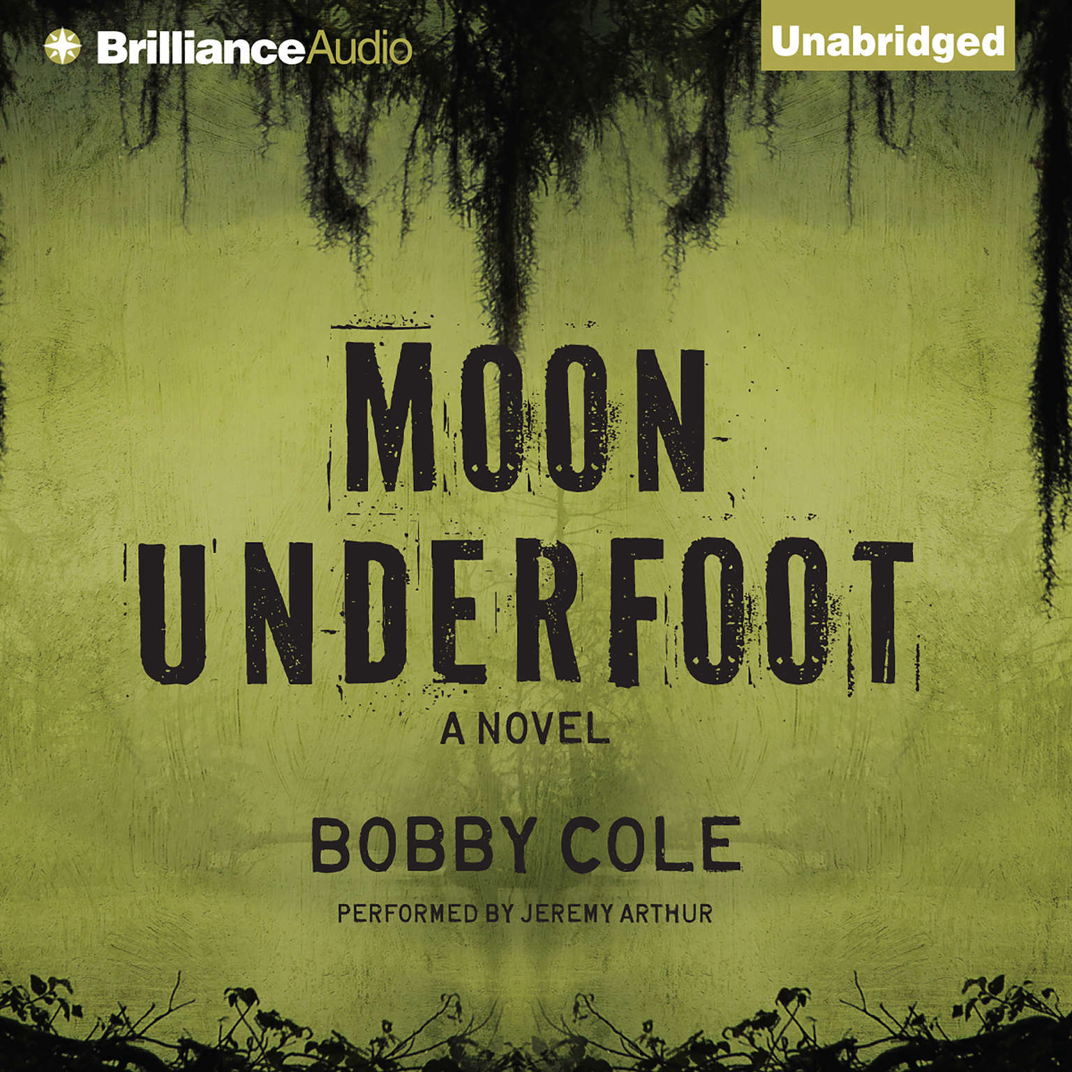 Printable Moon Underfoot Audiobook Cover Art