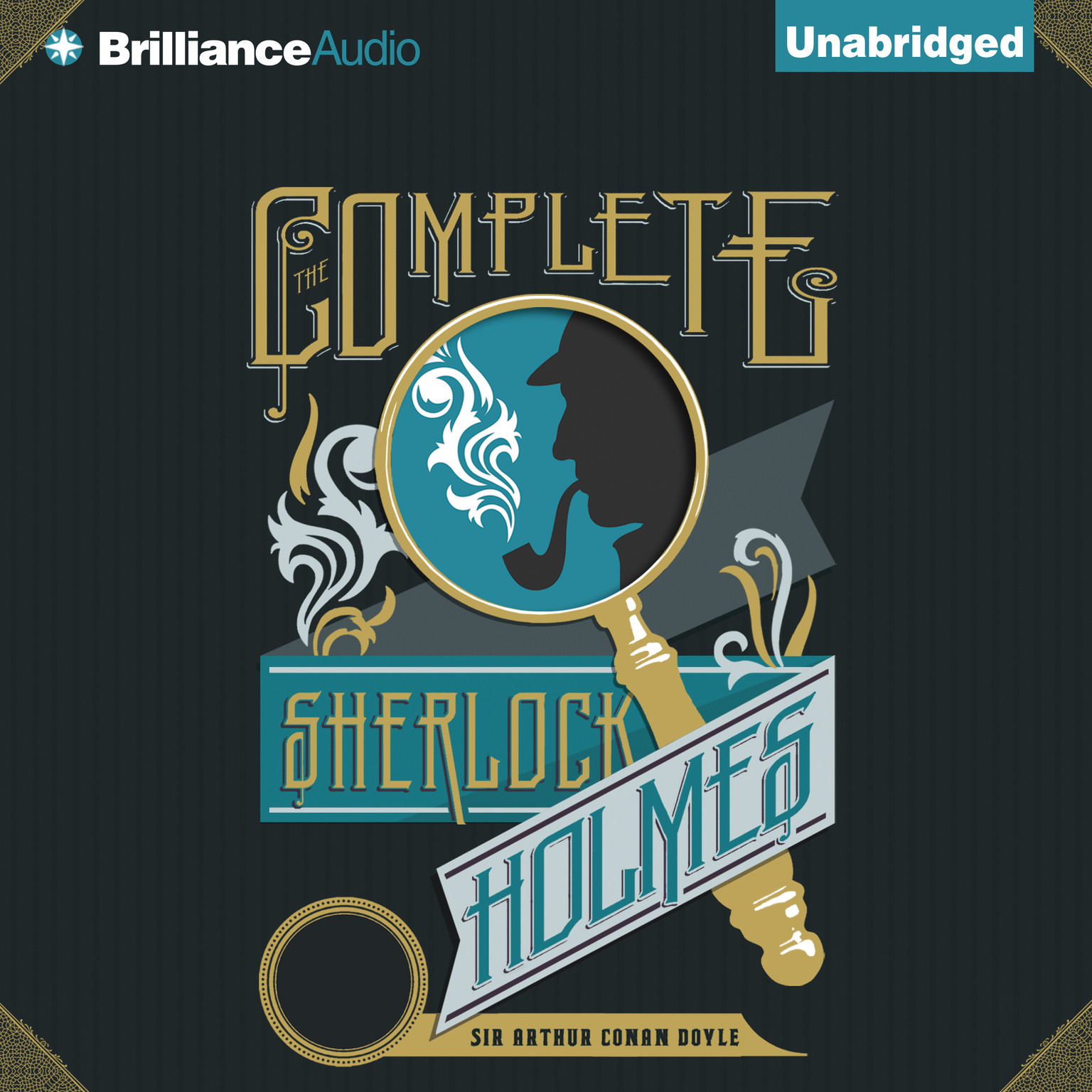 Printable The Complete Sherlock Holmes Audiobook Cover Art