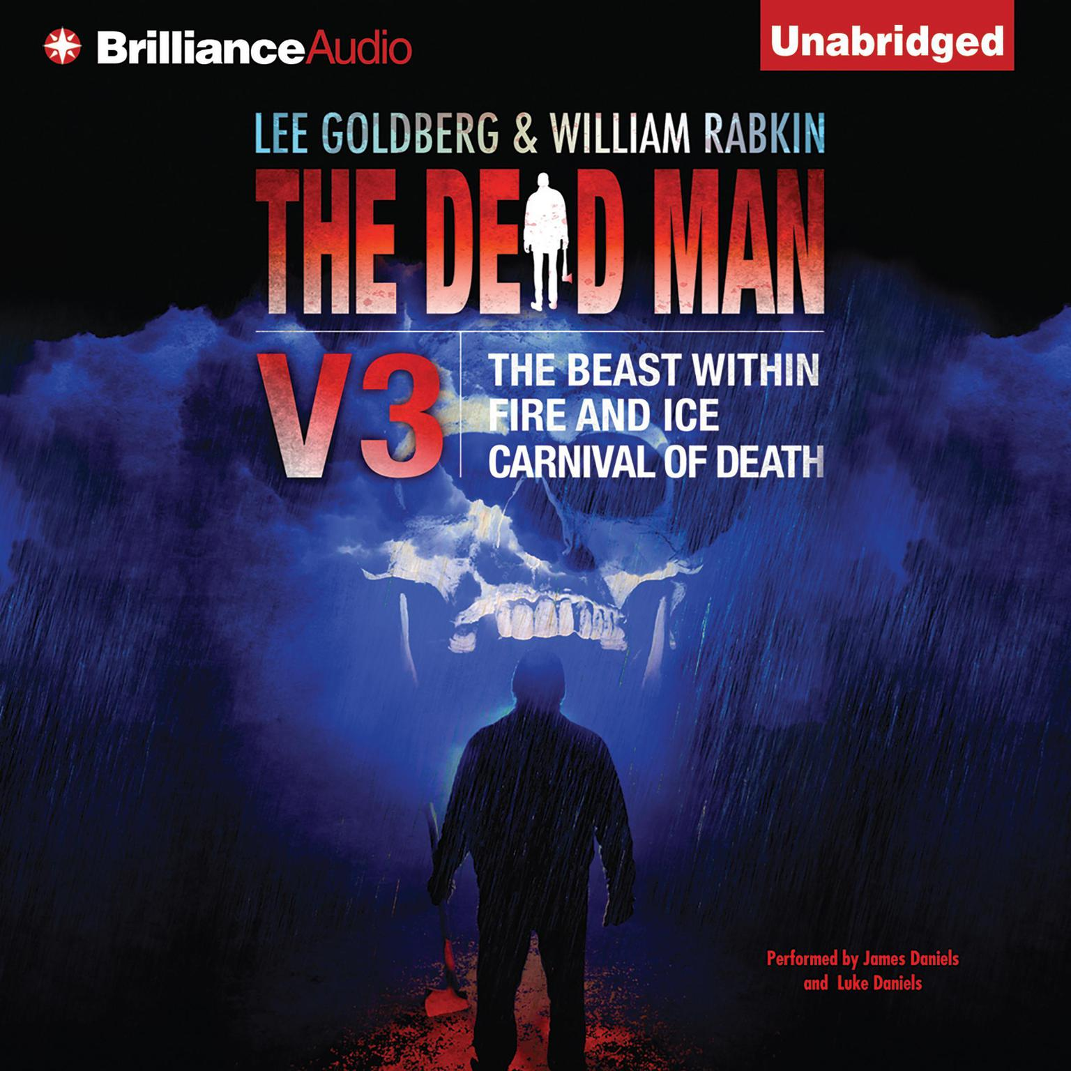 Printable The Dead Man Vol 3: The Beast Within, Fire & Ice, Carnival of Death Audiobook Cover Art