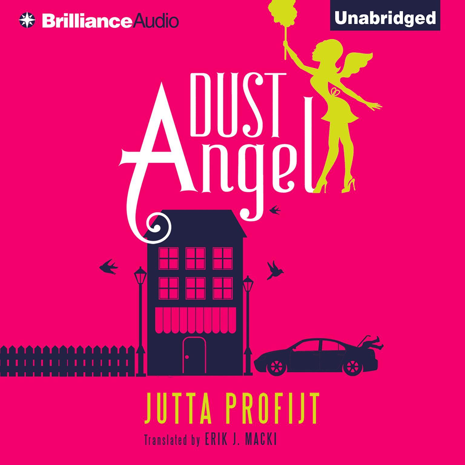 Printable Dust Angel Audiobook Cover Art