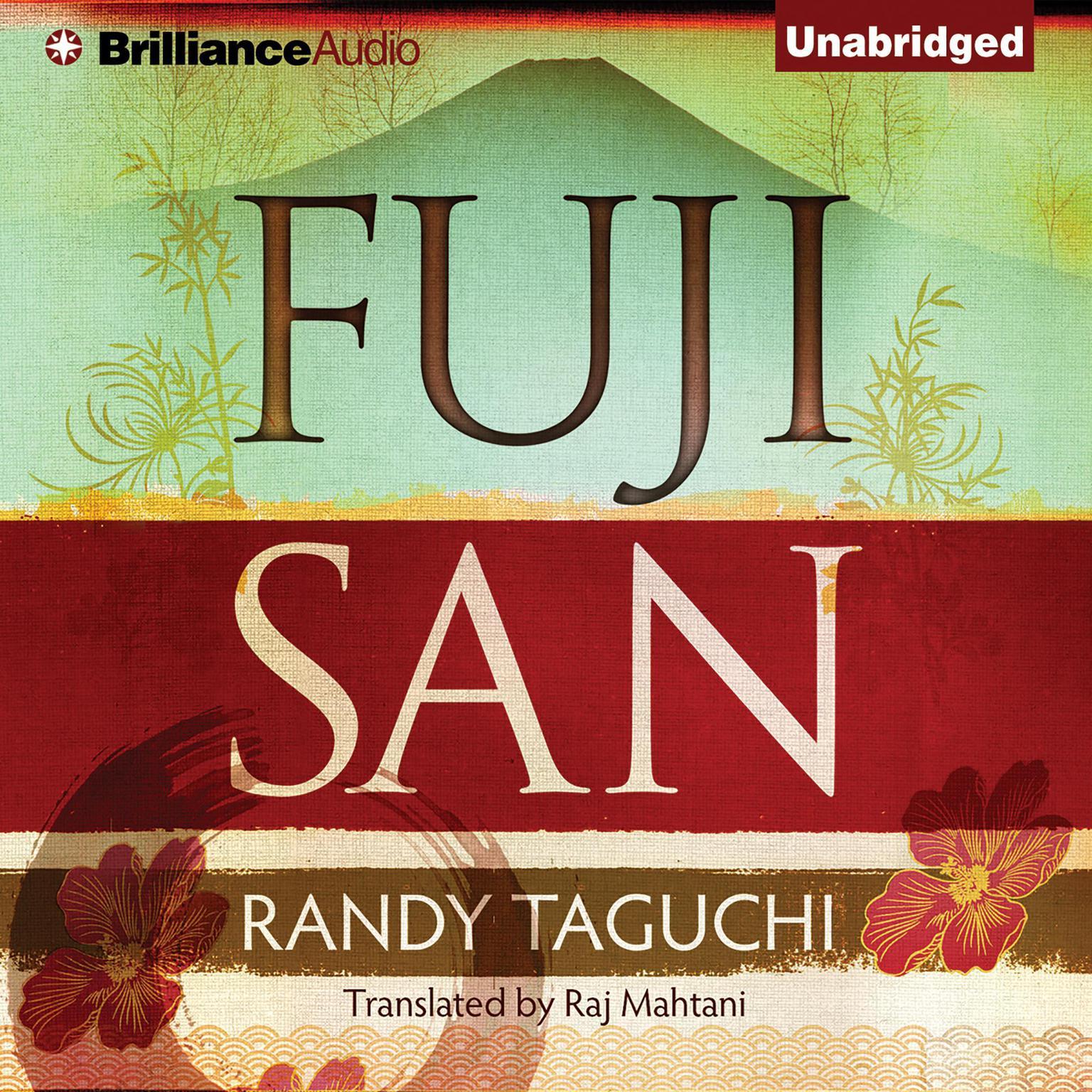 Printable Fujisan Audiobook Cover Art