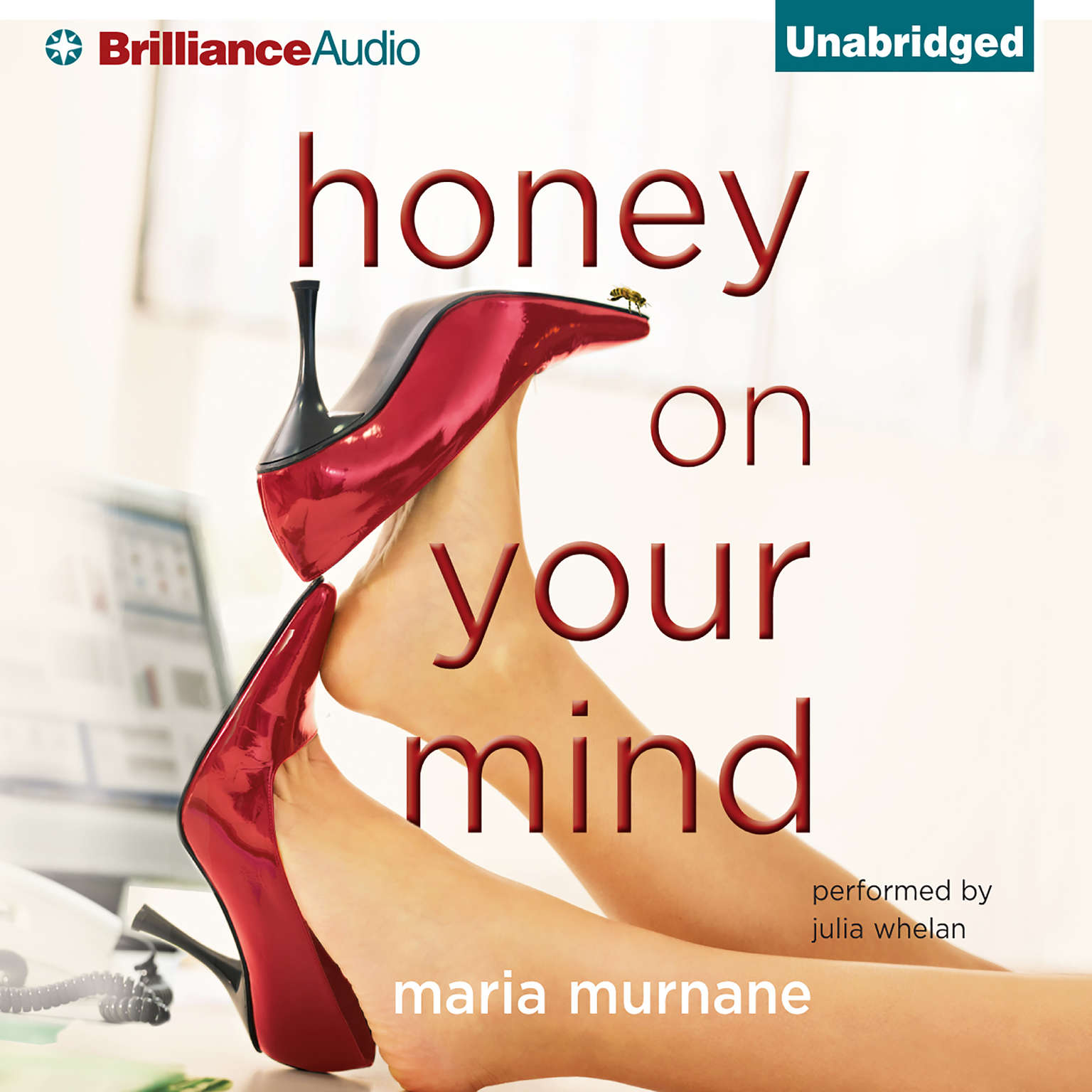 Printable Honey on Your Mind Audiobook Cover Art