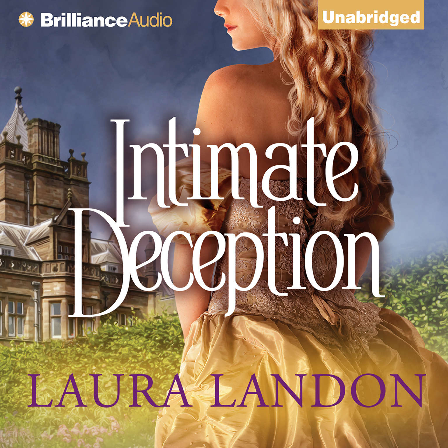Printable Intimate Deception Audiobook Cover Art
